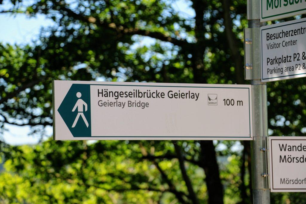 Hangbrug Duitsland wandeling Geierlay