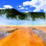 De kleuren van Yellowstone