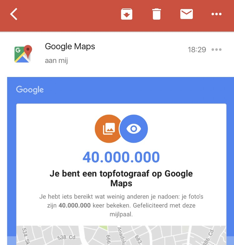 Google Maps fotograaf België Streetview