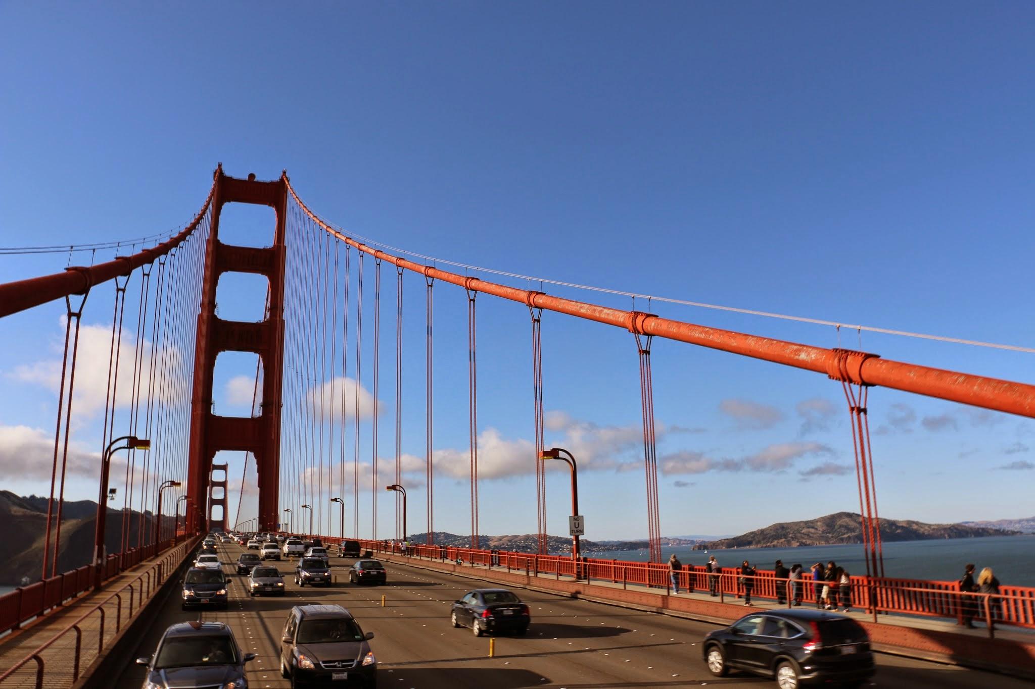 San Francisco bezienswaardigheden brug