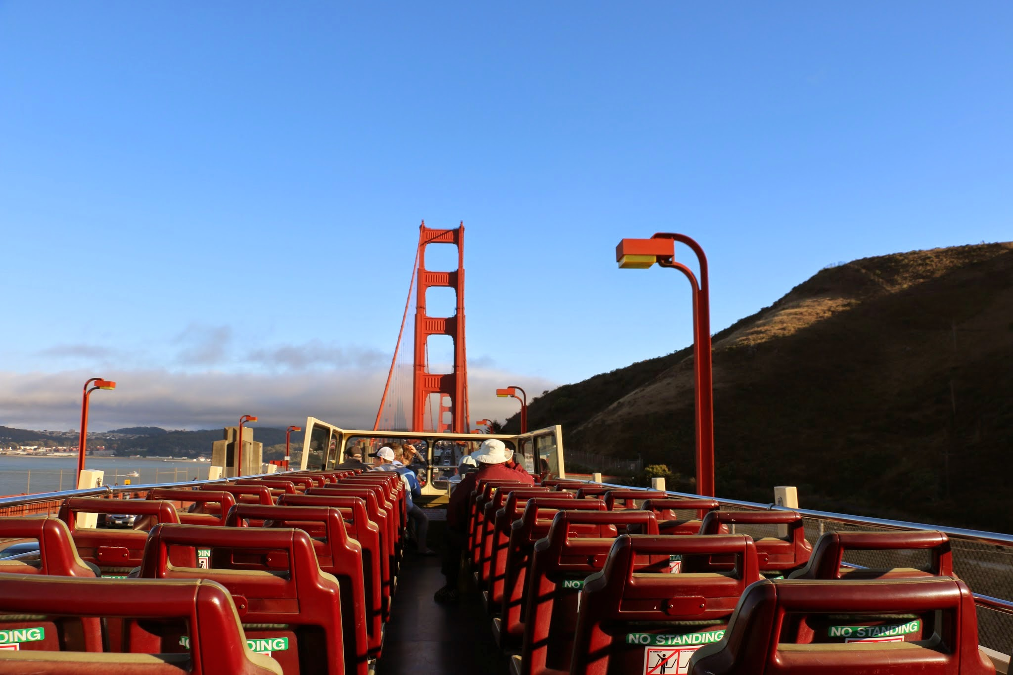 San Francisco Bus Tour route Golden Gate Bridge