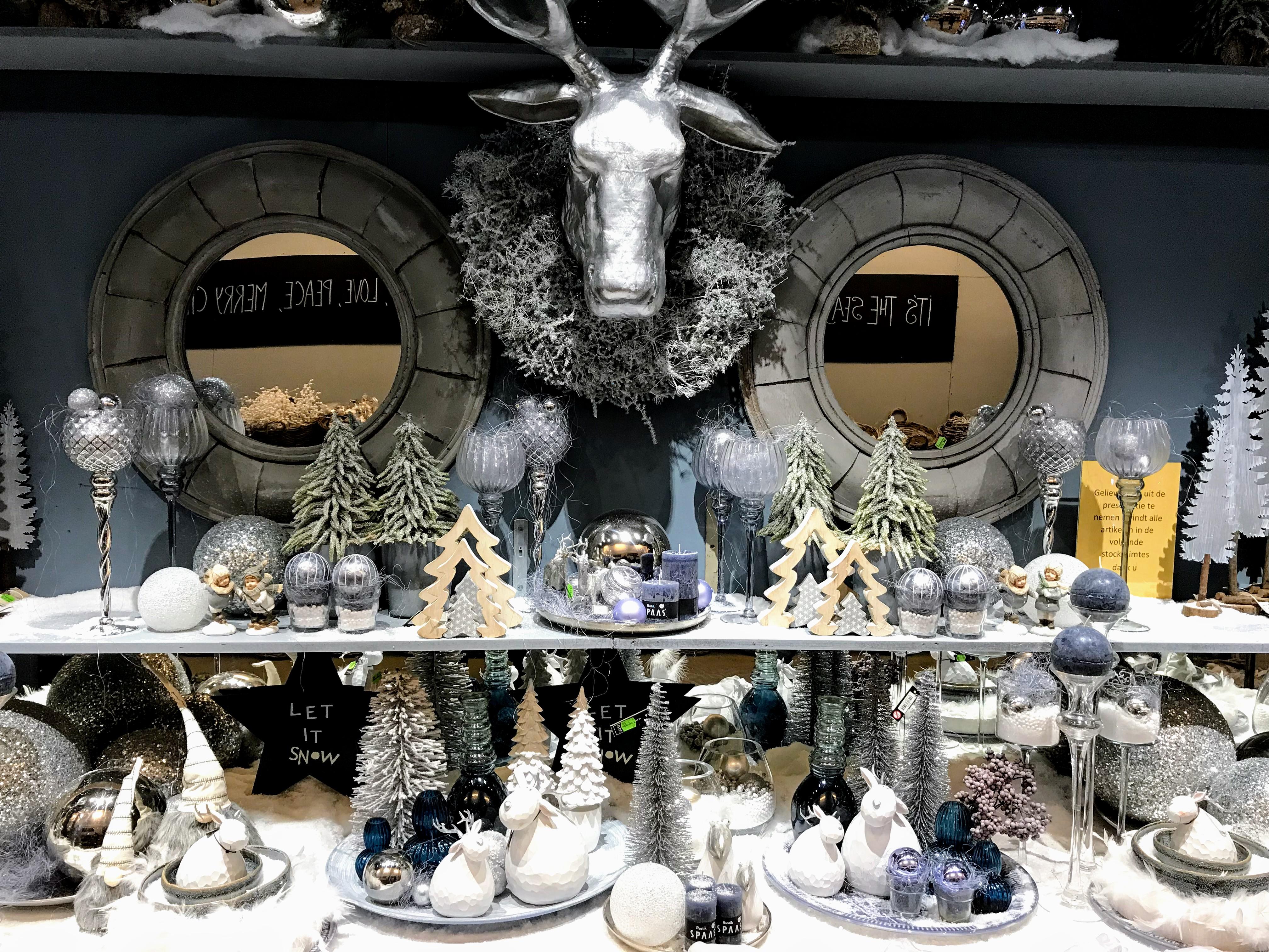 Witte kerstdecoratie