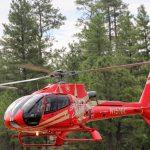 Een helikoptervlucht boven de grand canyon maken