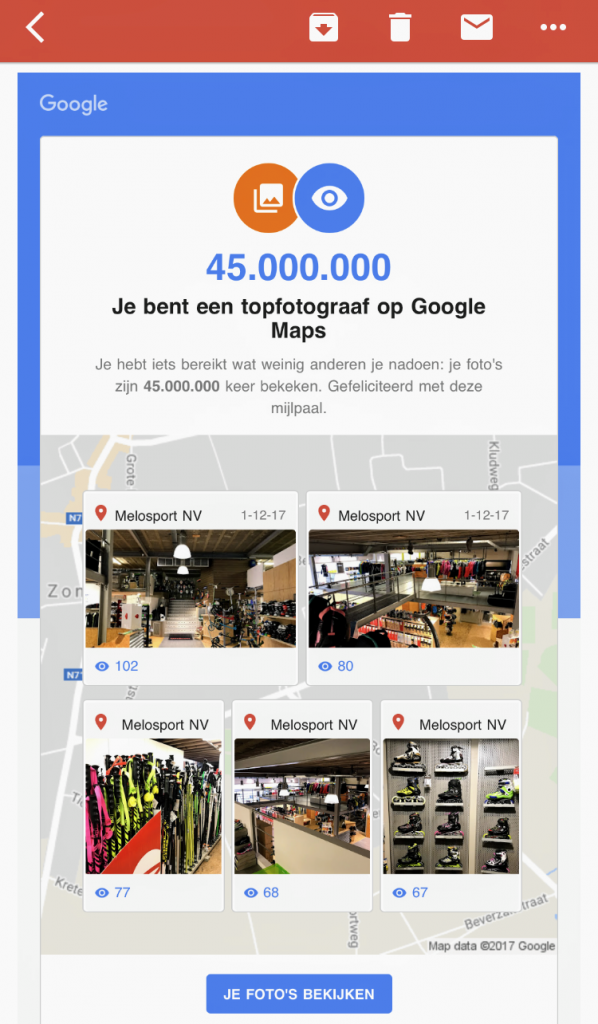 Google Local Guide level 8