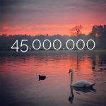45.000.000 keer bekeken!