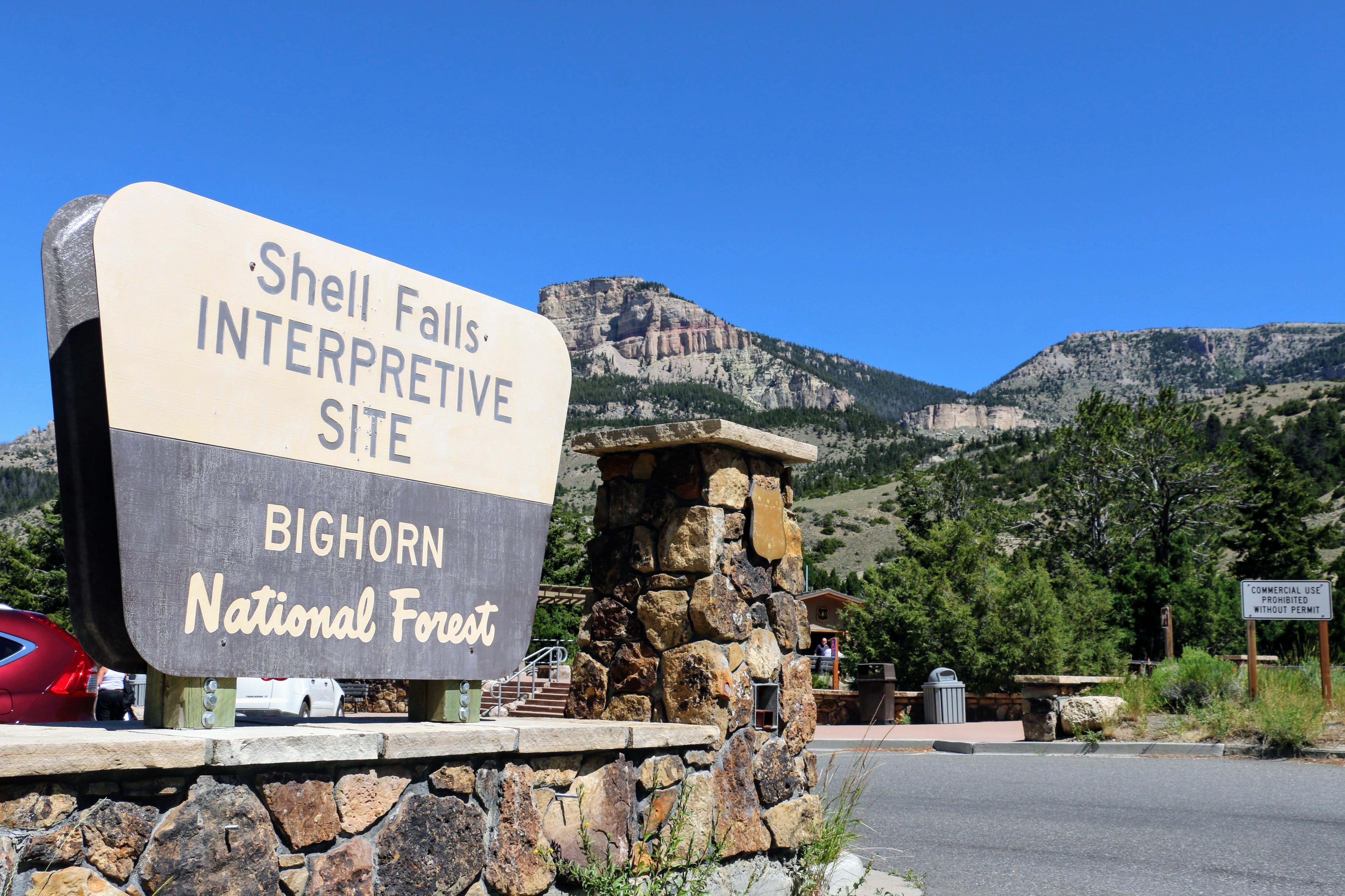 Shell Falls - Wyoming