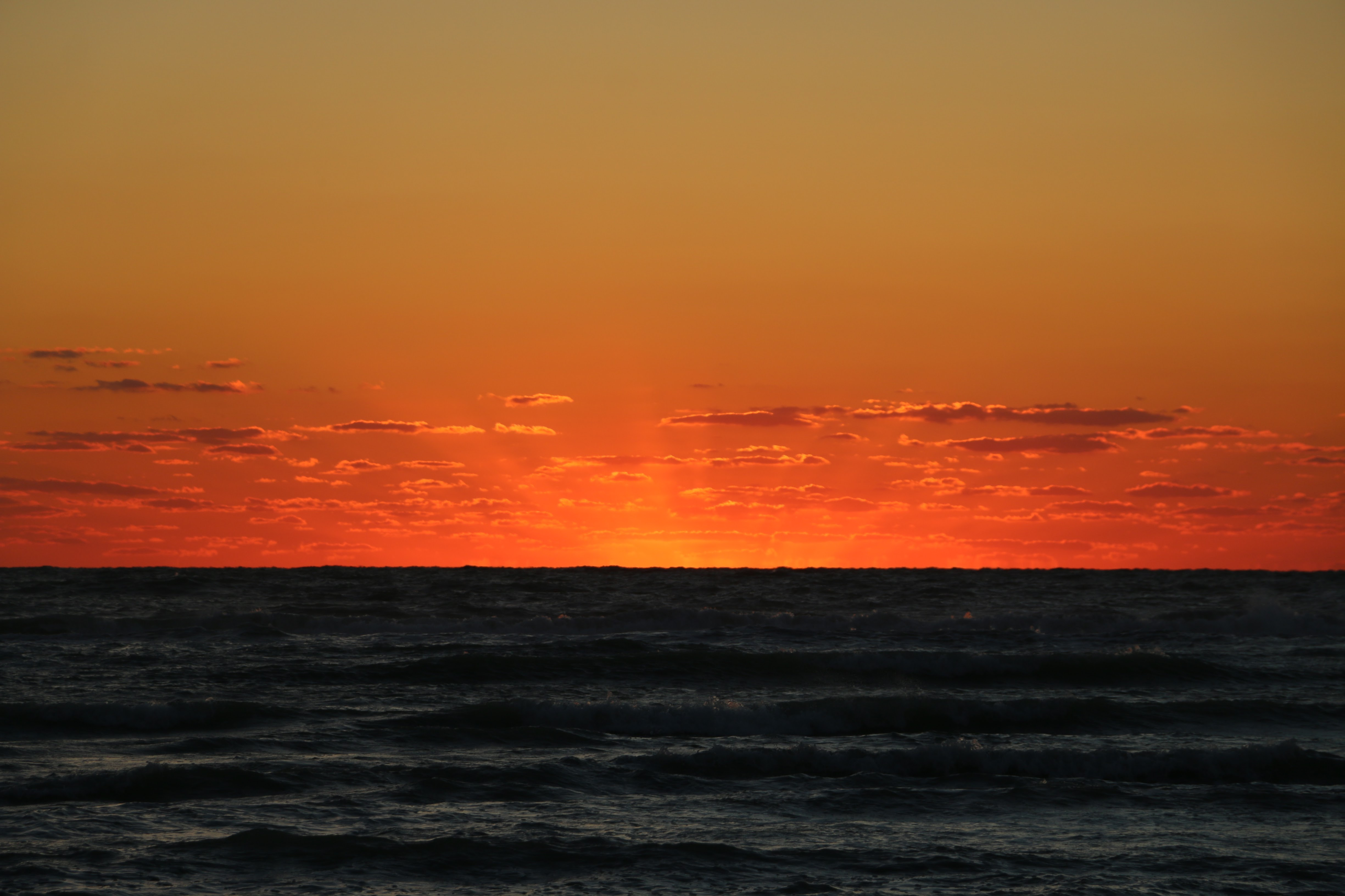 Een zonsondergang in Florida