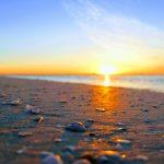 Een mooie zonsondergang op Sanibel Island