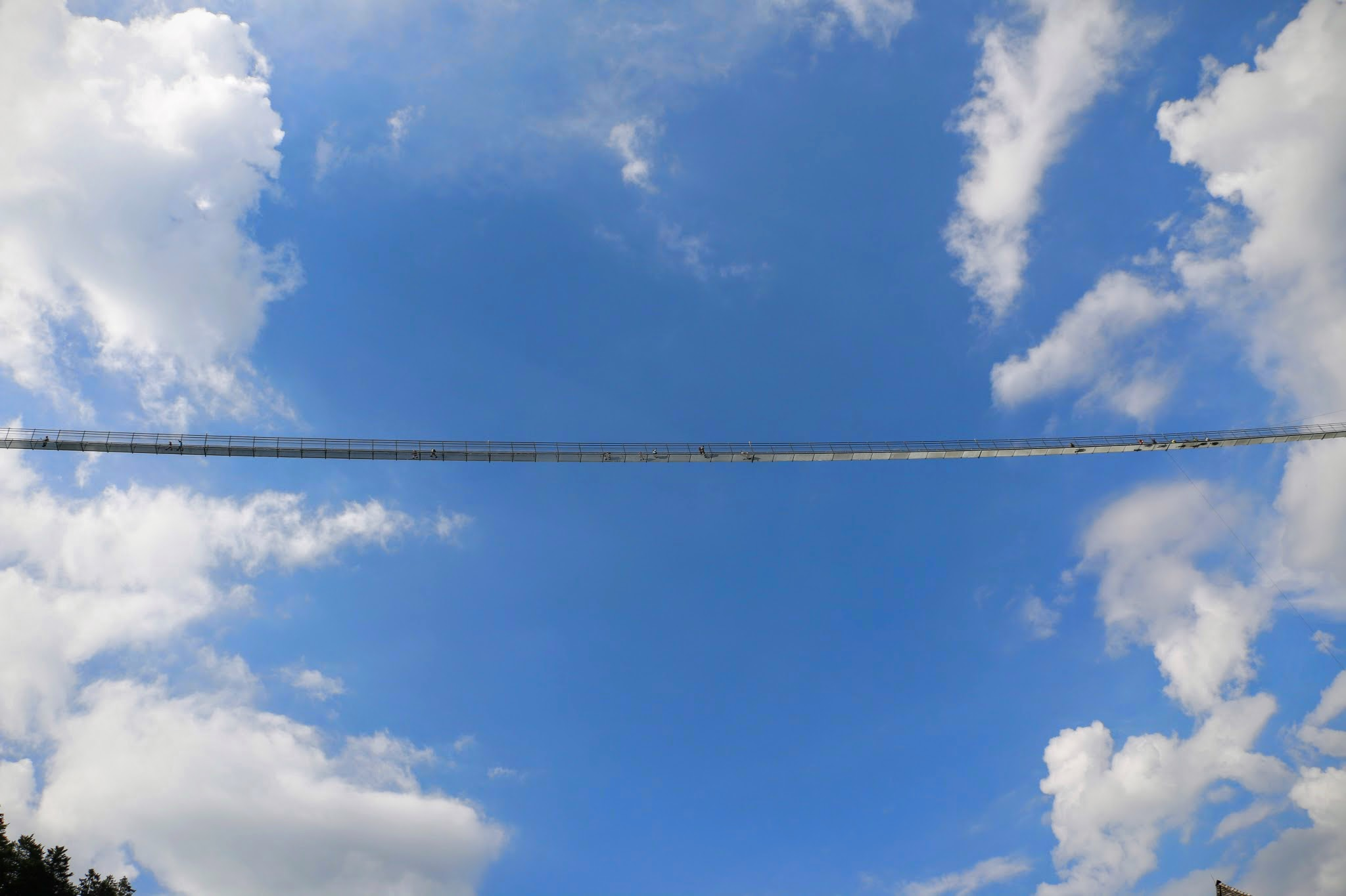 De langste hangbrug van Oostenrijk