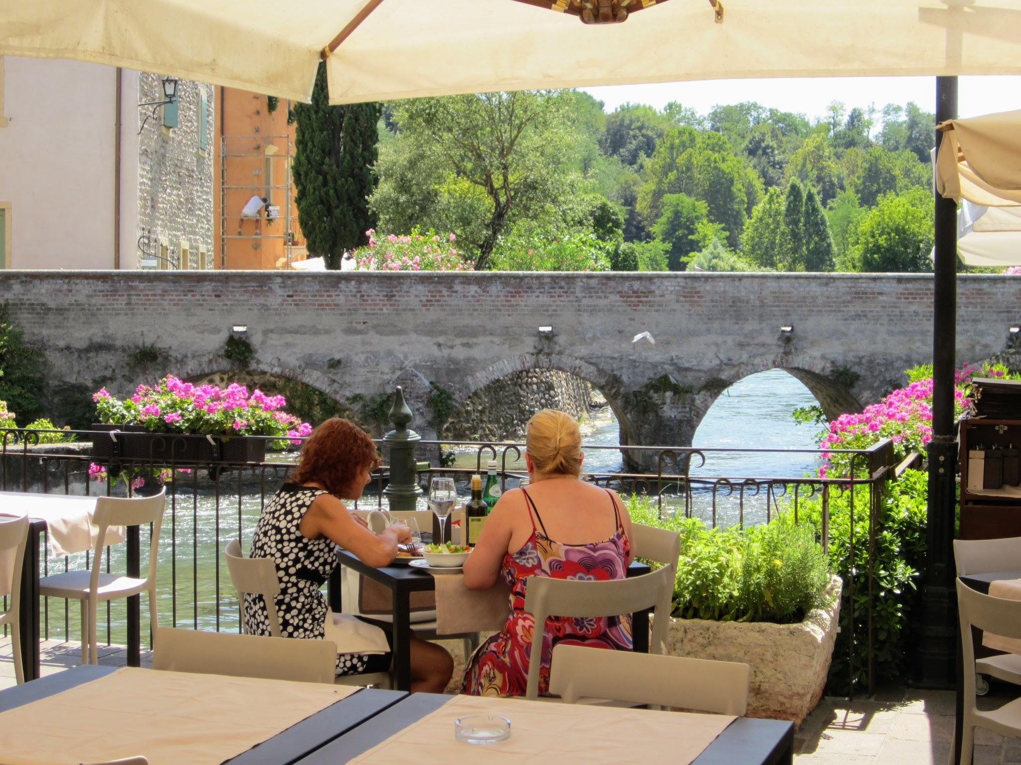 Terrasjes in Borghetto sul Mincio