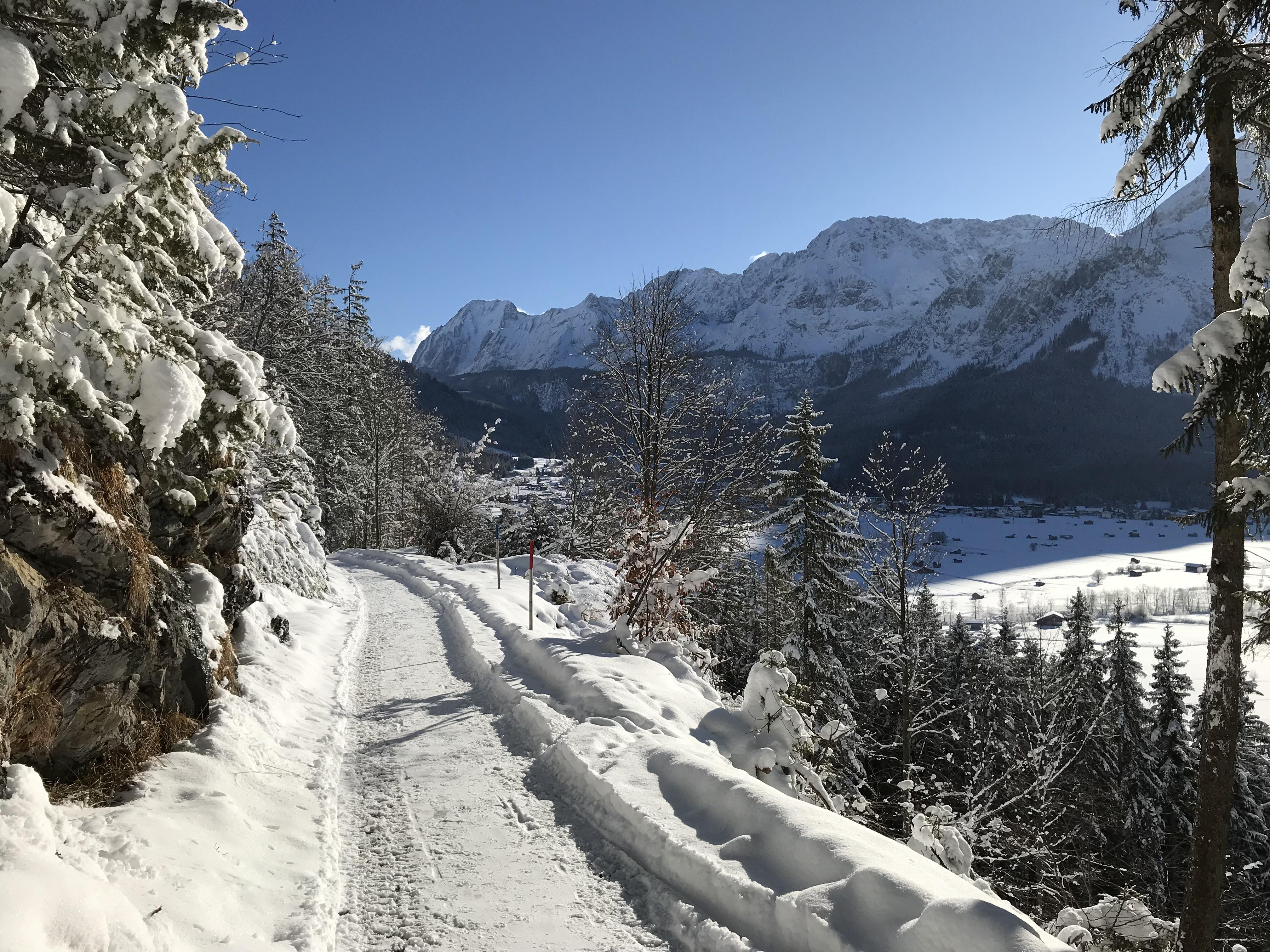 Winterwandeling Ehrwald Lermoos