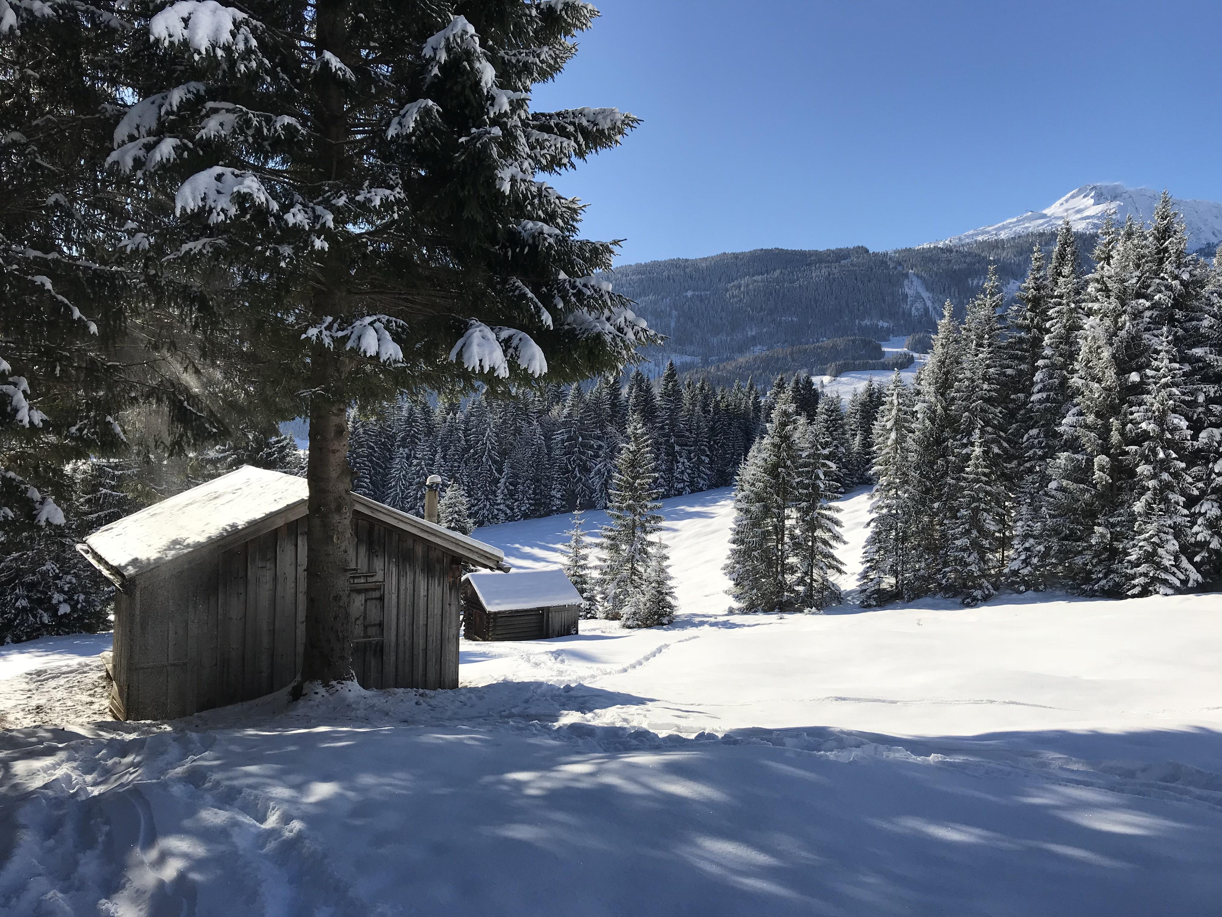 Berghutje in Tirol