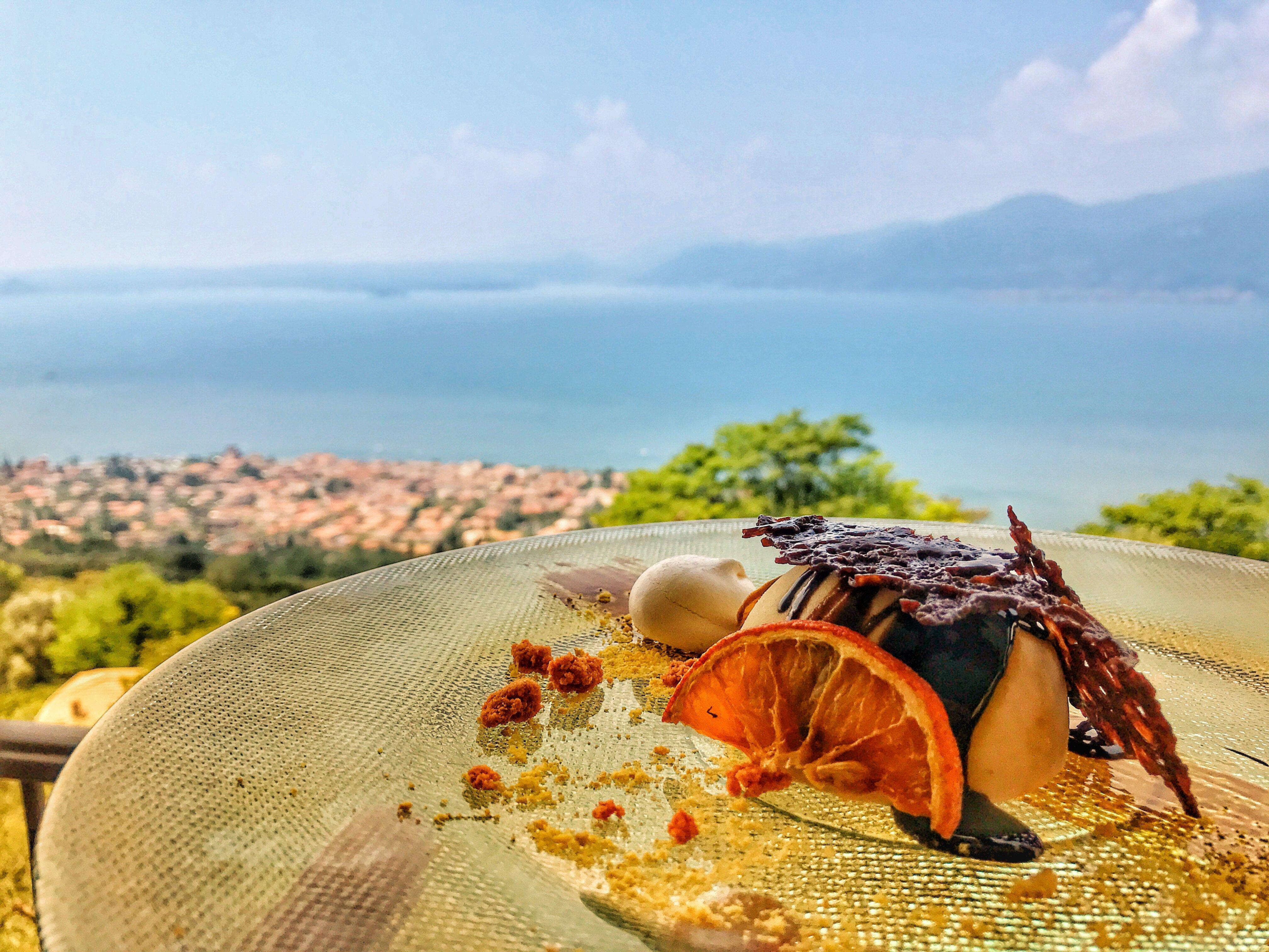 Lekker eten aan het Gardameer