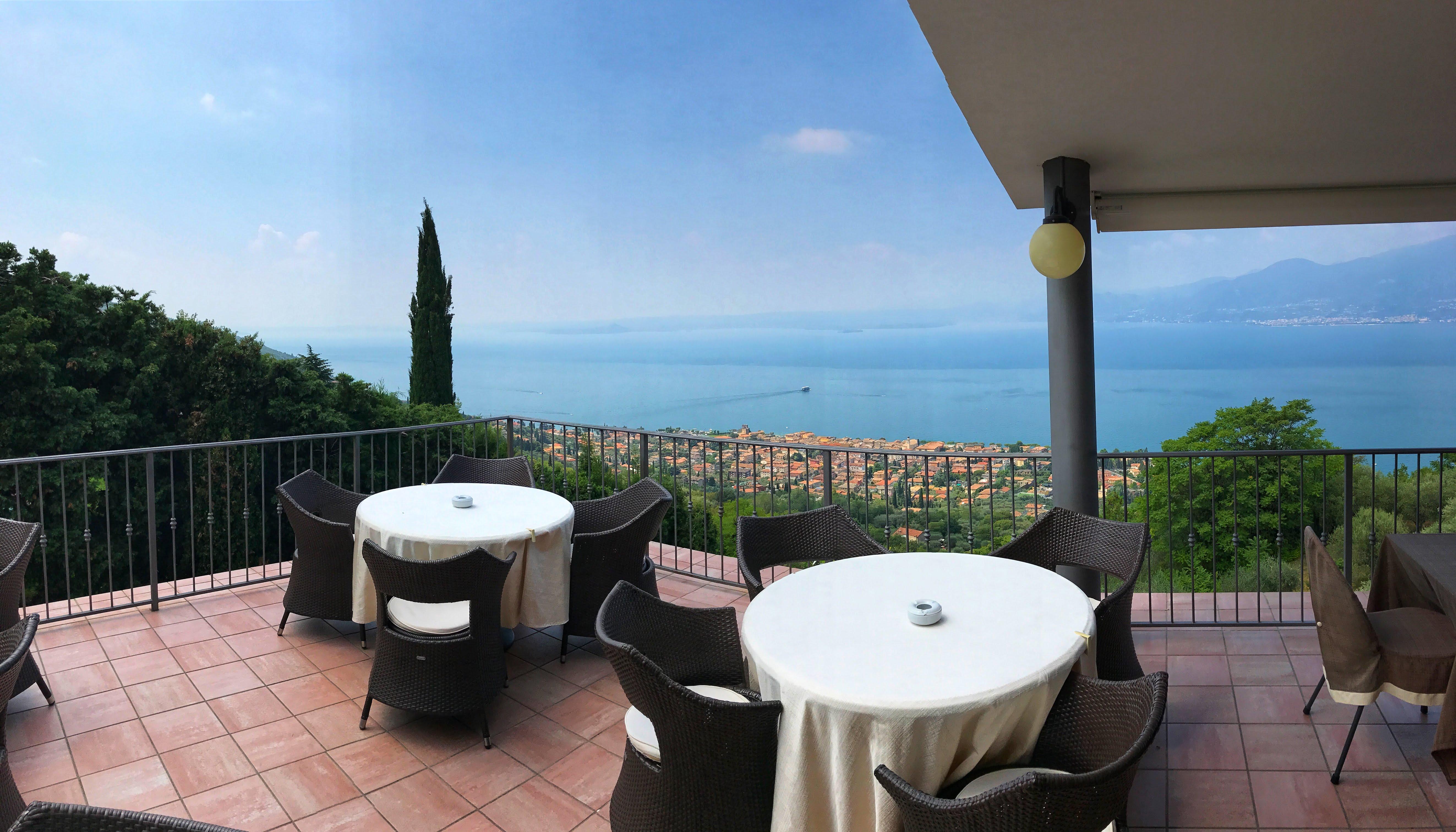 Terras hotel Panorama Albisano