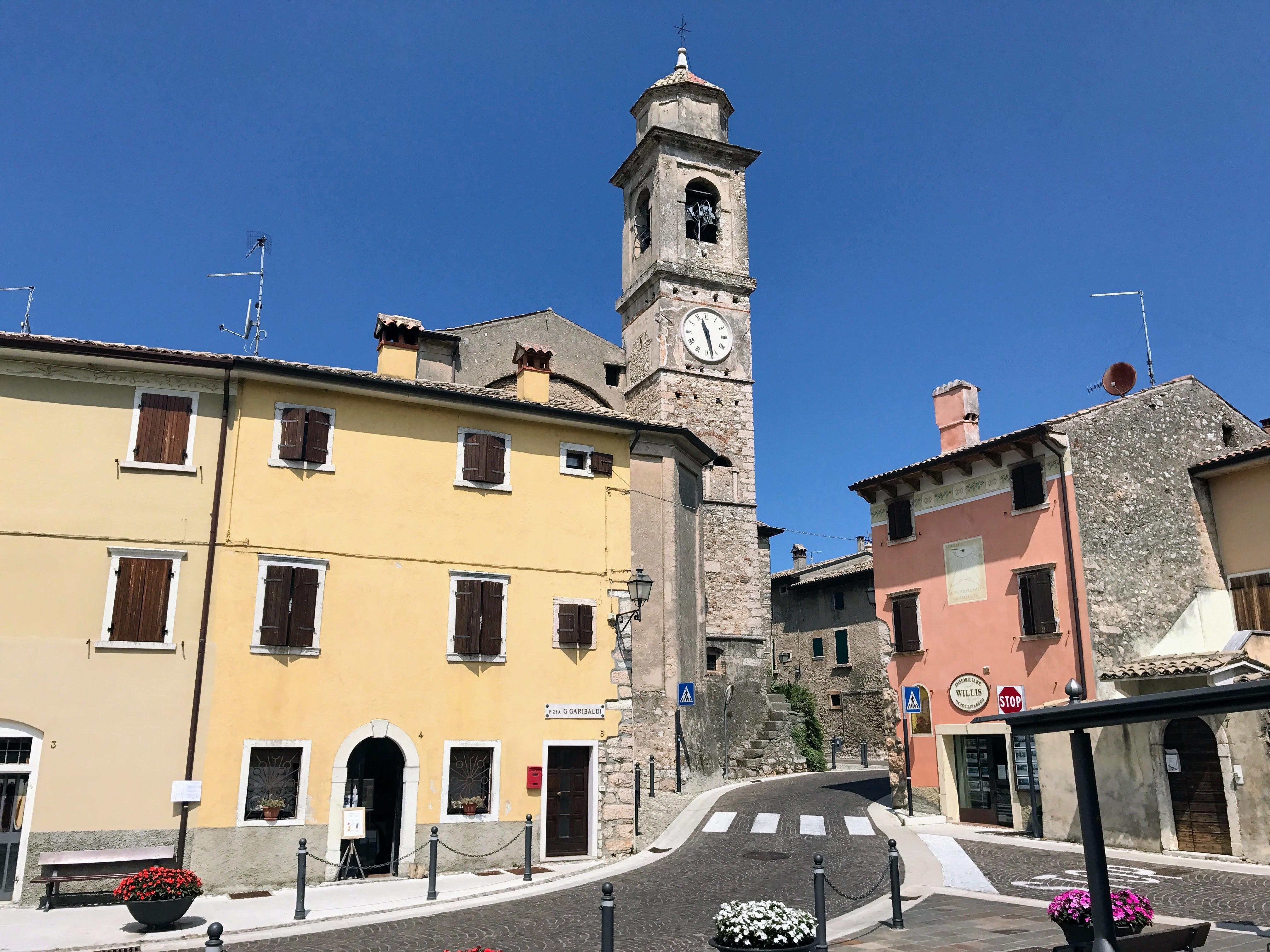 Het kerkje van Albisano - Torri del Benaco