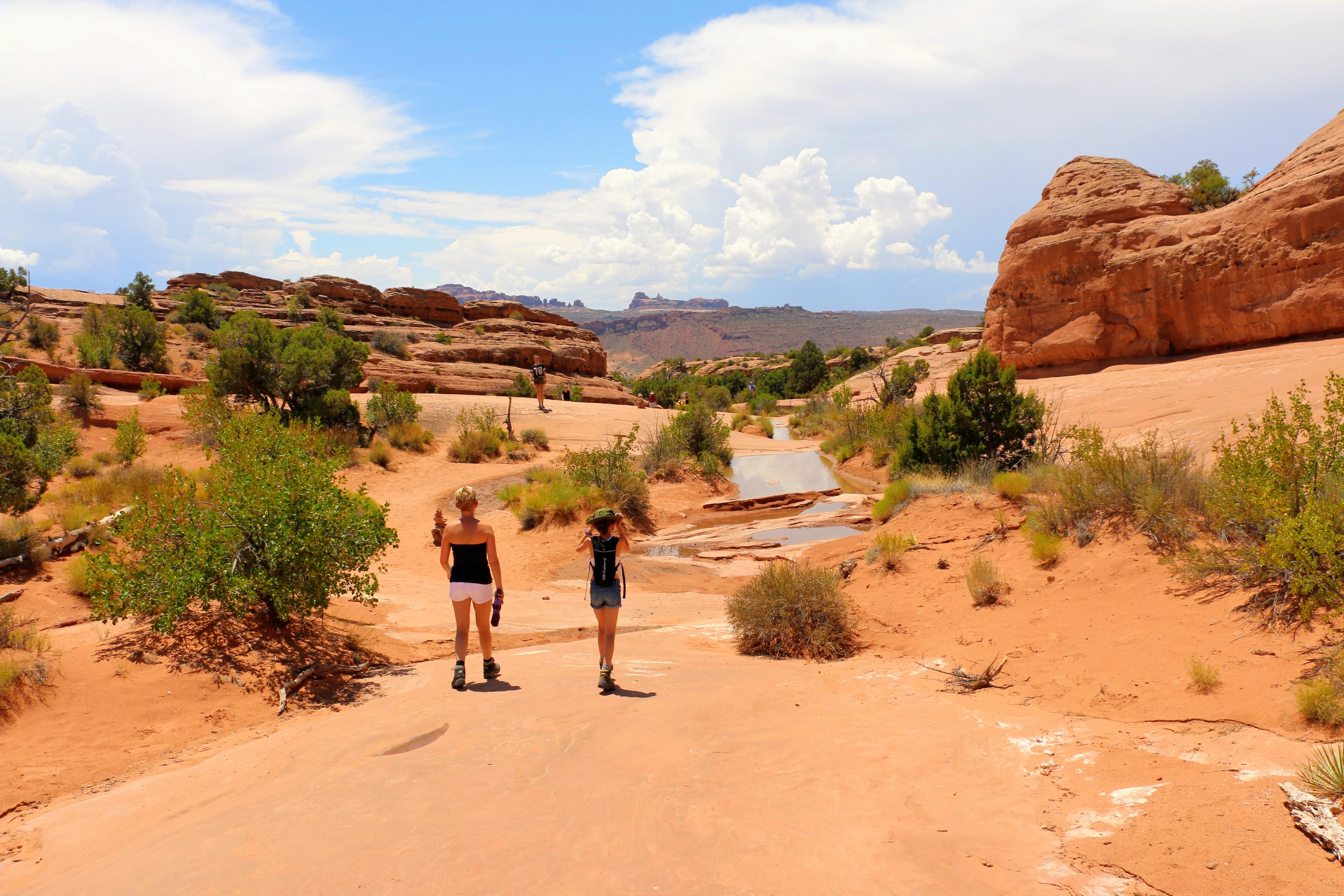 Wandelroute in Utah