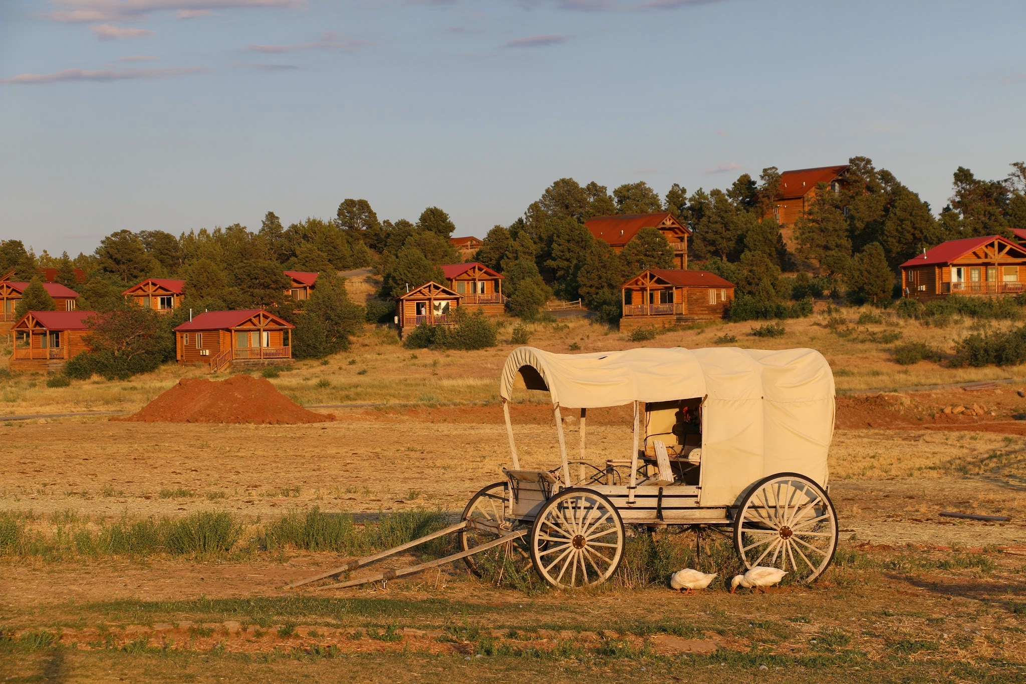 Waar kan je logeren op een ranch in Amerika