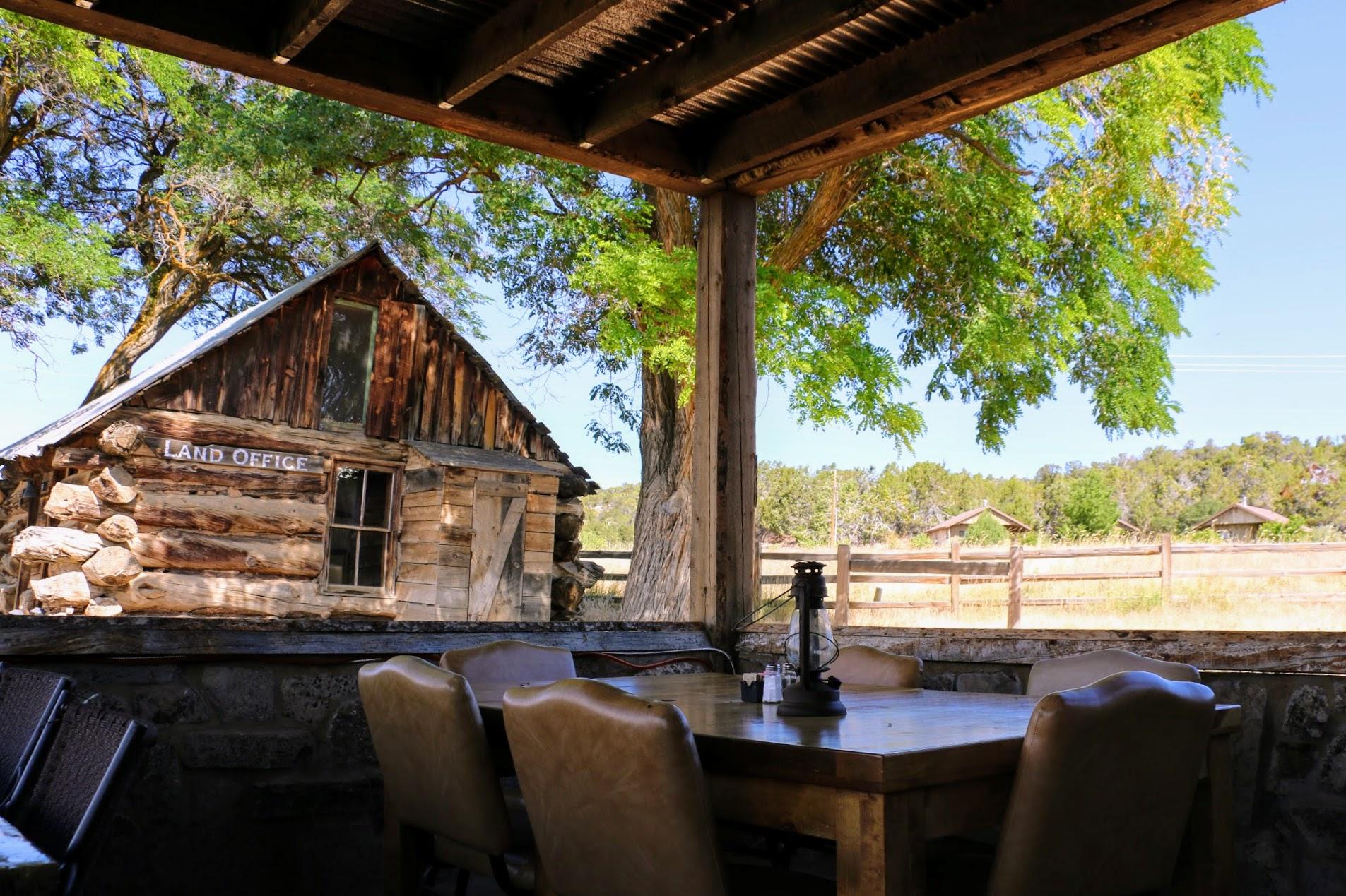 Ontbijten op een Amerikaanse ranch