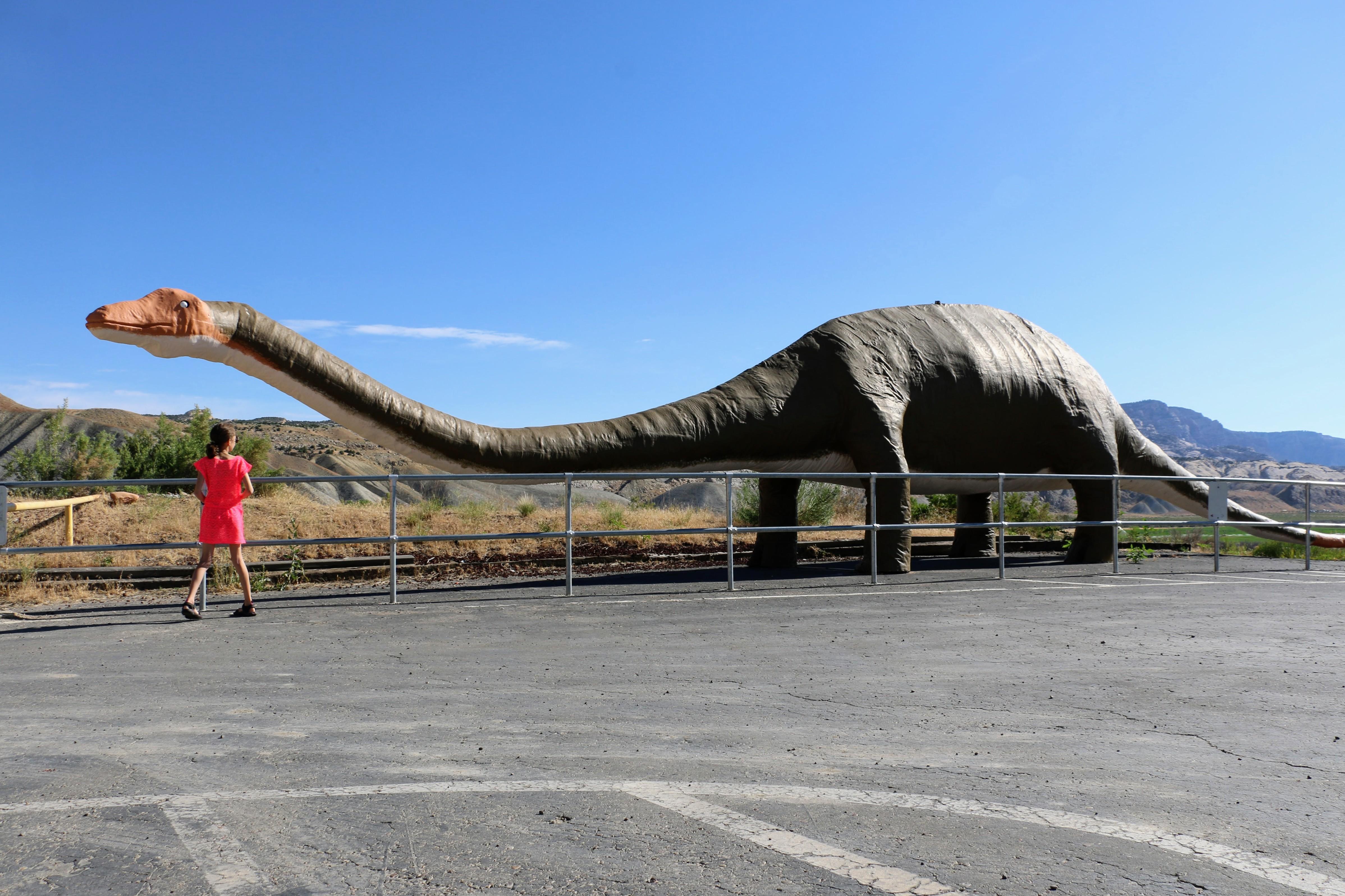 Dinosaurus in Utah