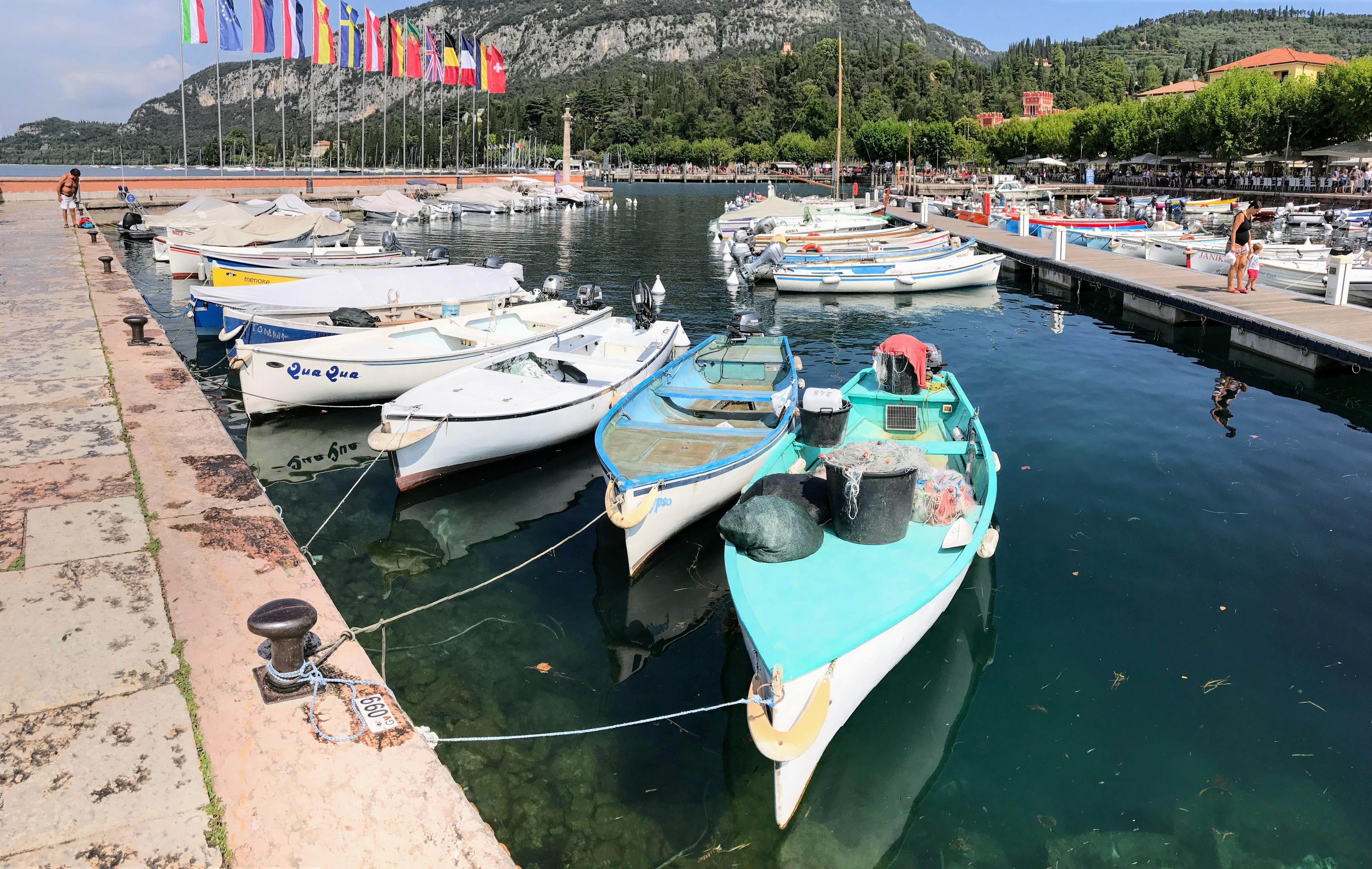 Het haventje van Garda