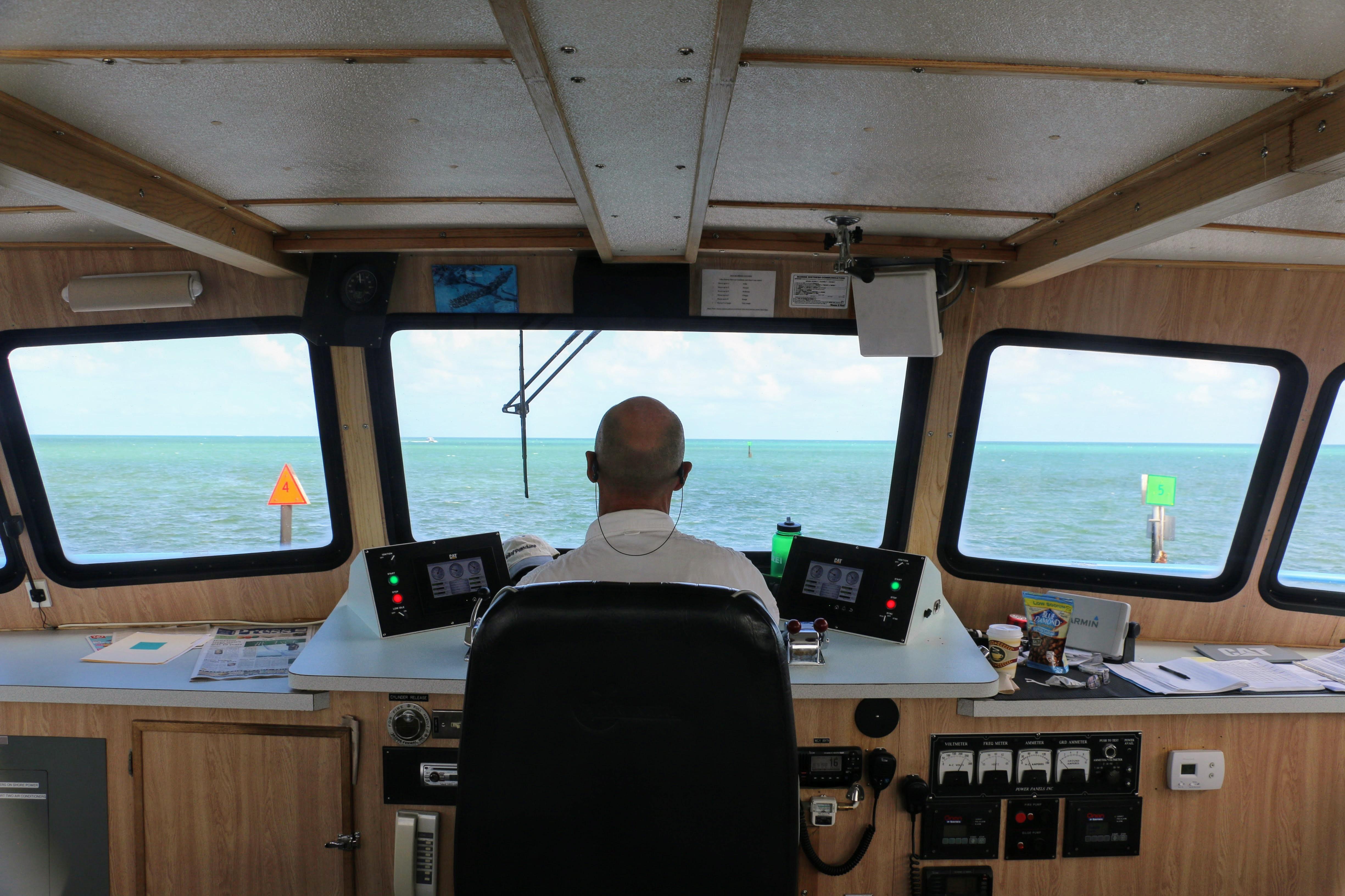 Boot met glazen bodem Florida