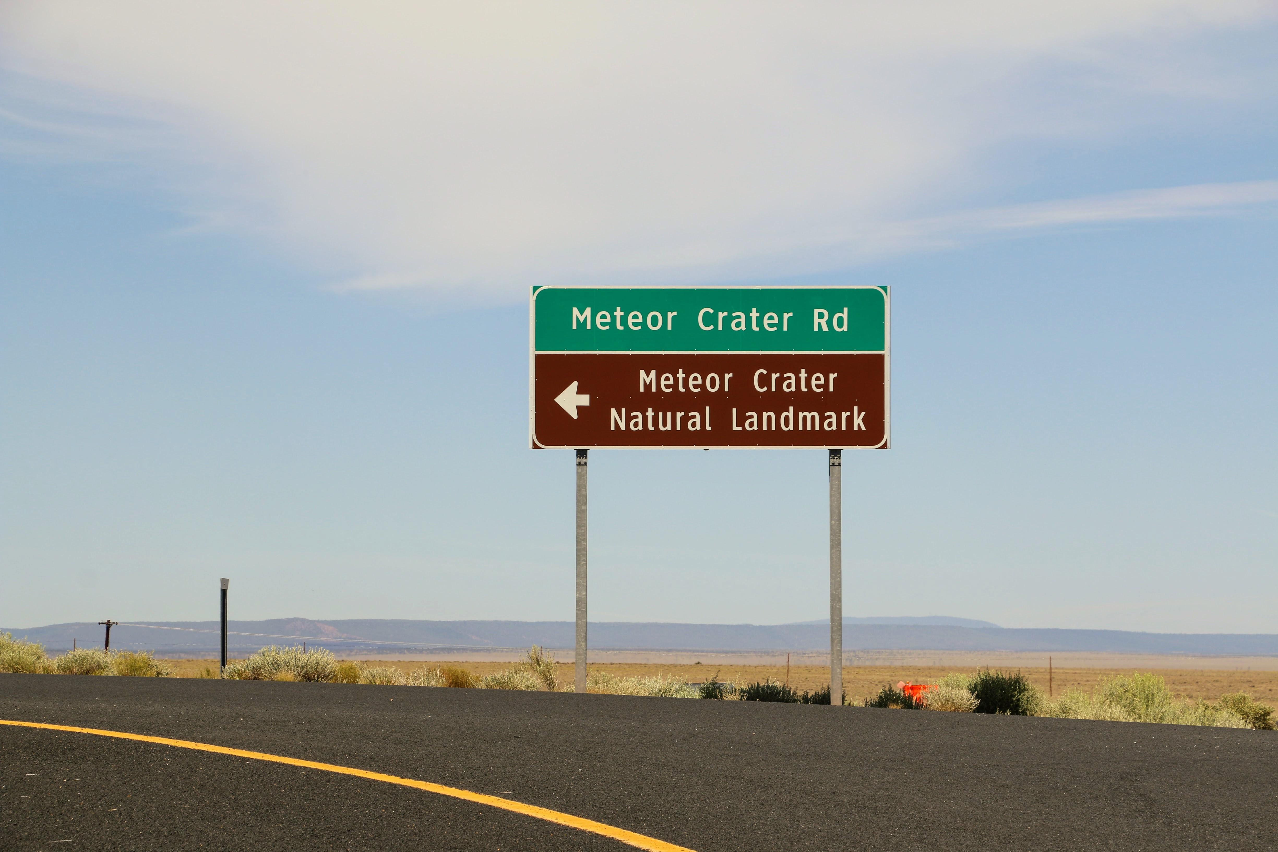 Meteor Crater Natural Landmark Arizona