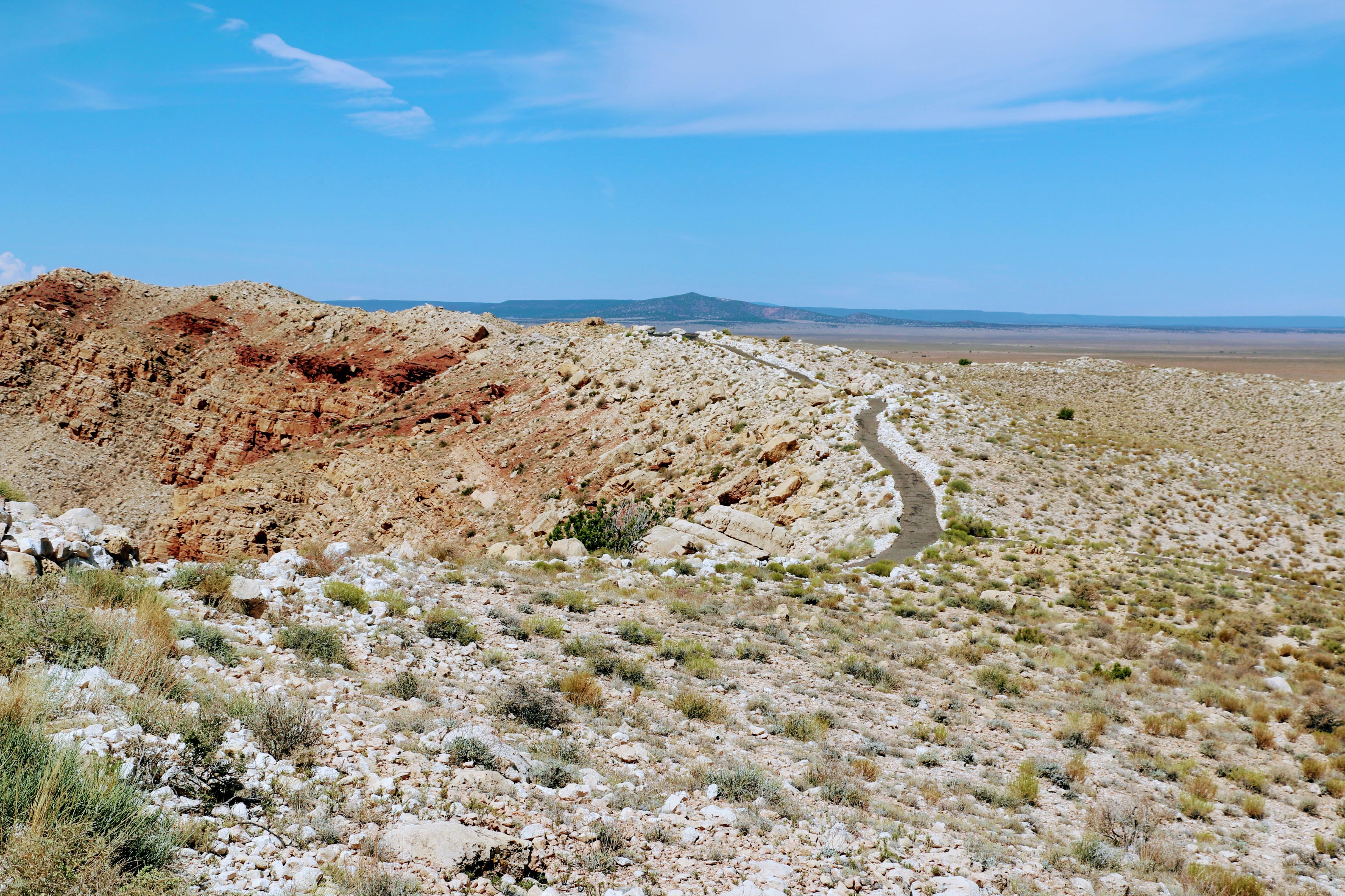 Meteoriet krater Arizona Amerika