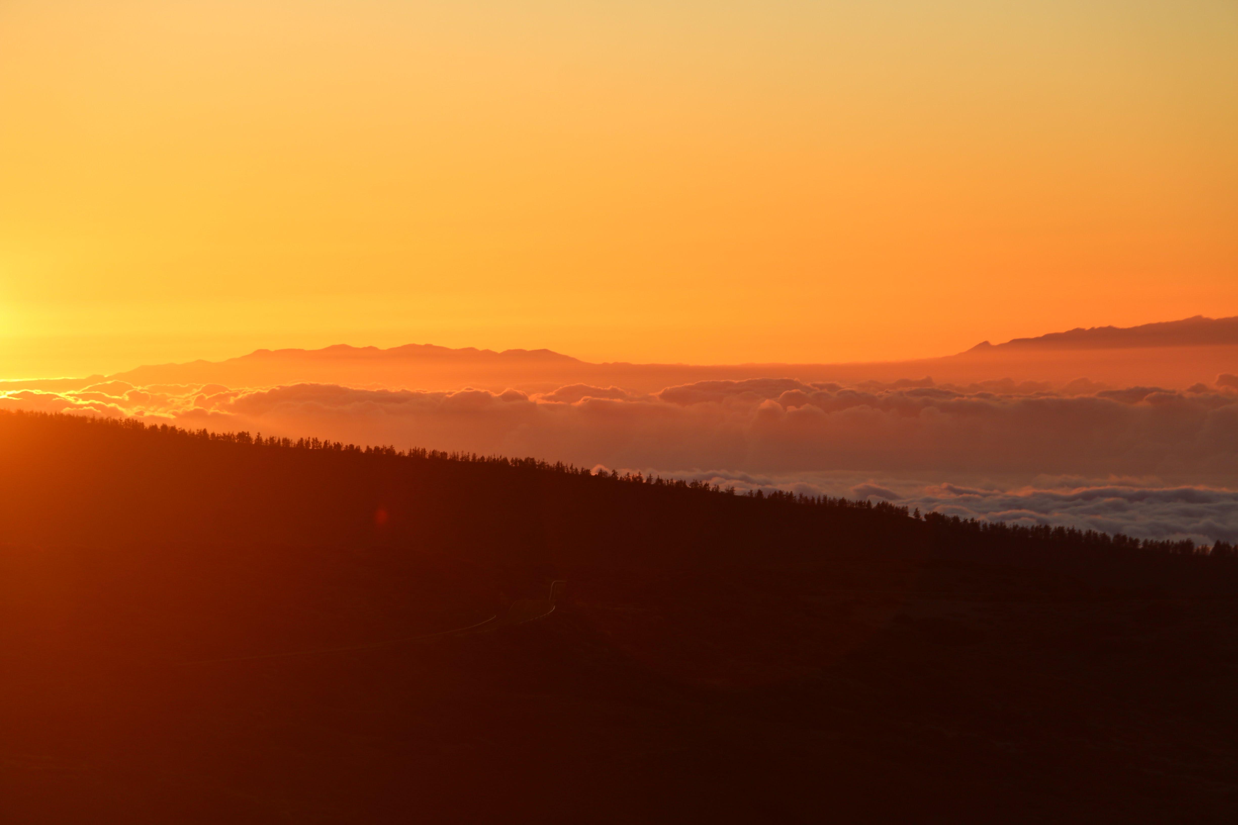 Zonsondergang Tenerife