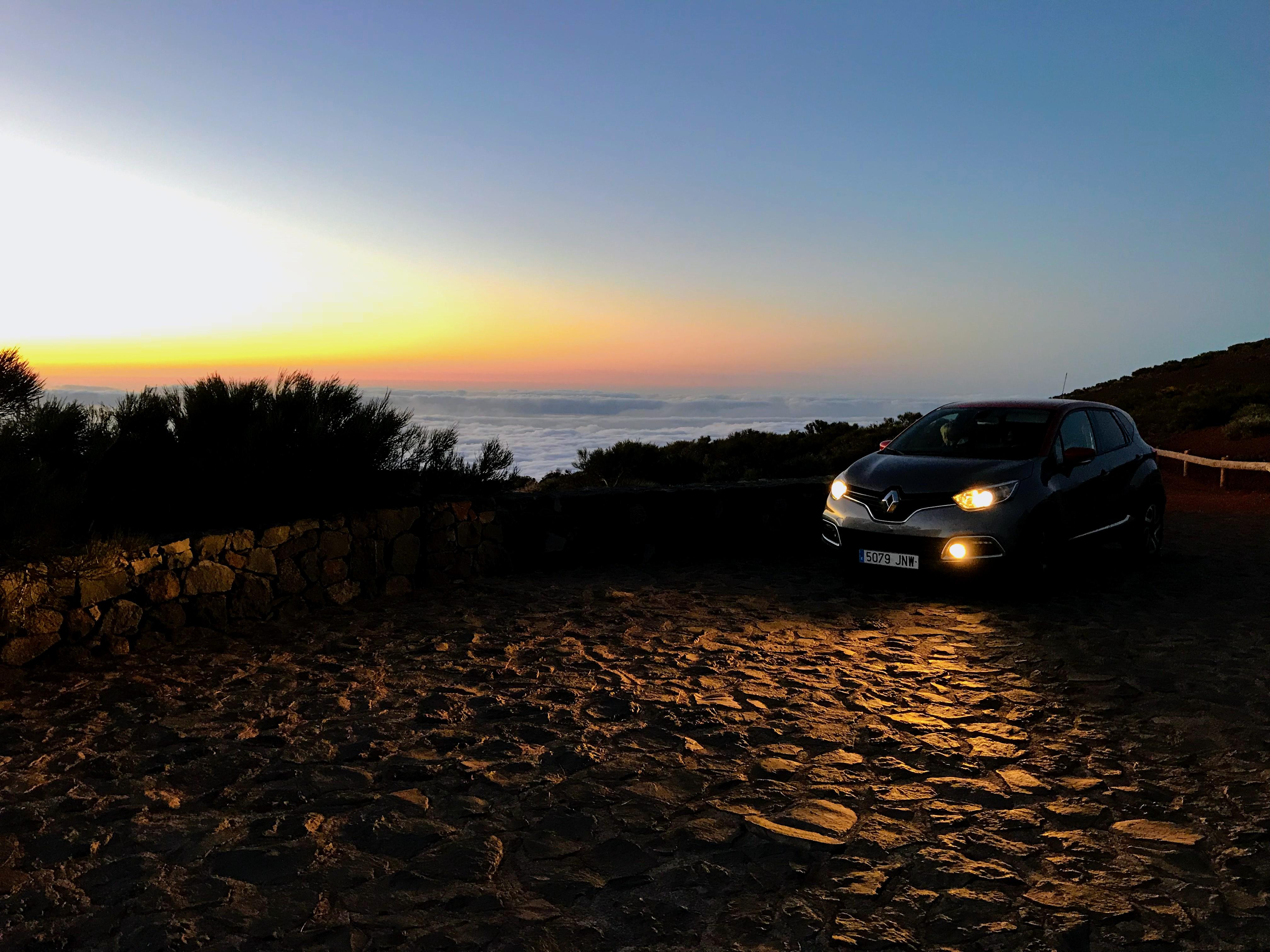 Beste locatie zonsondergang Tenerife