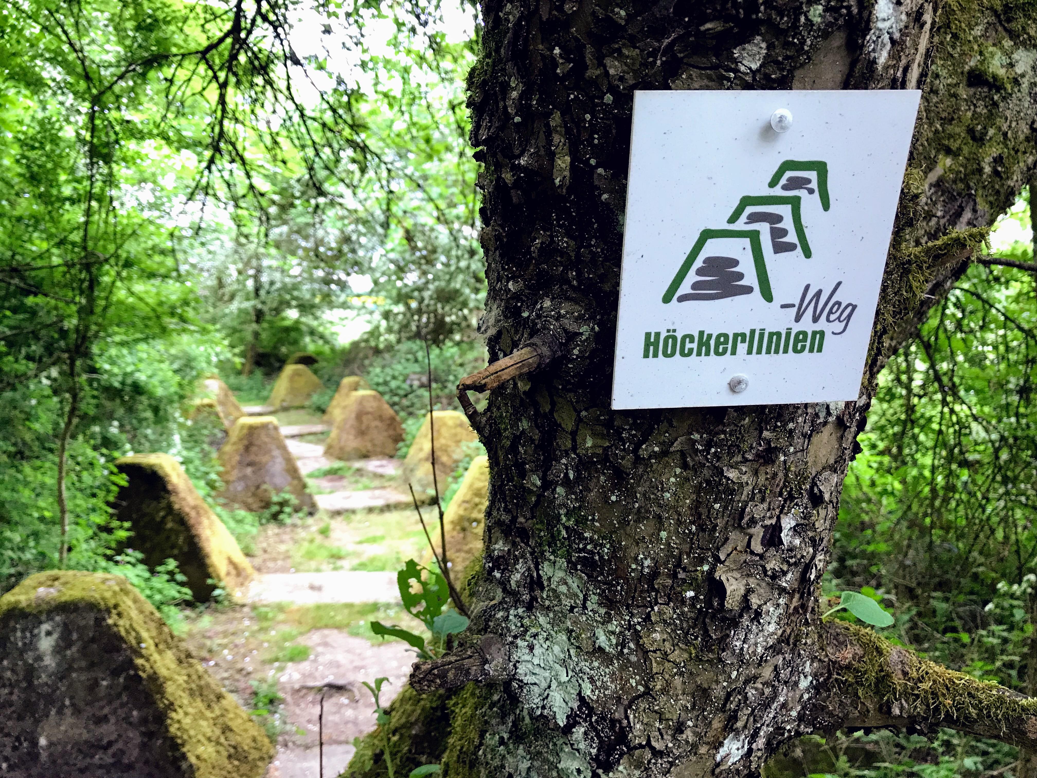 Höckerlinienweg Saarland