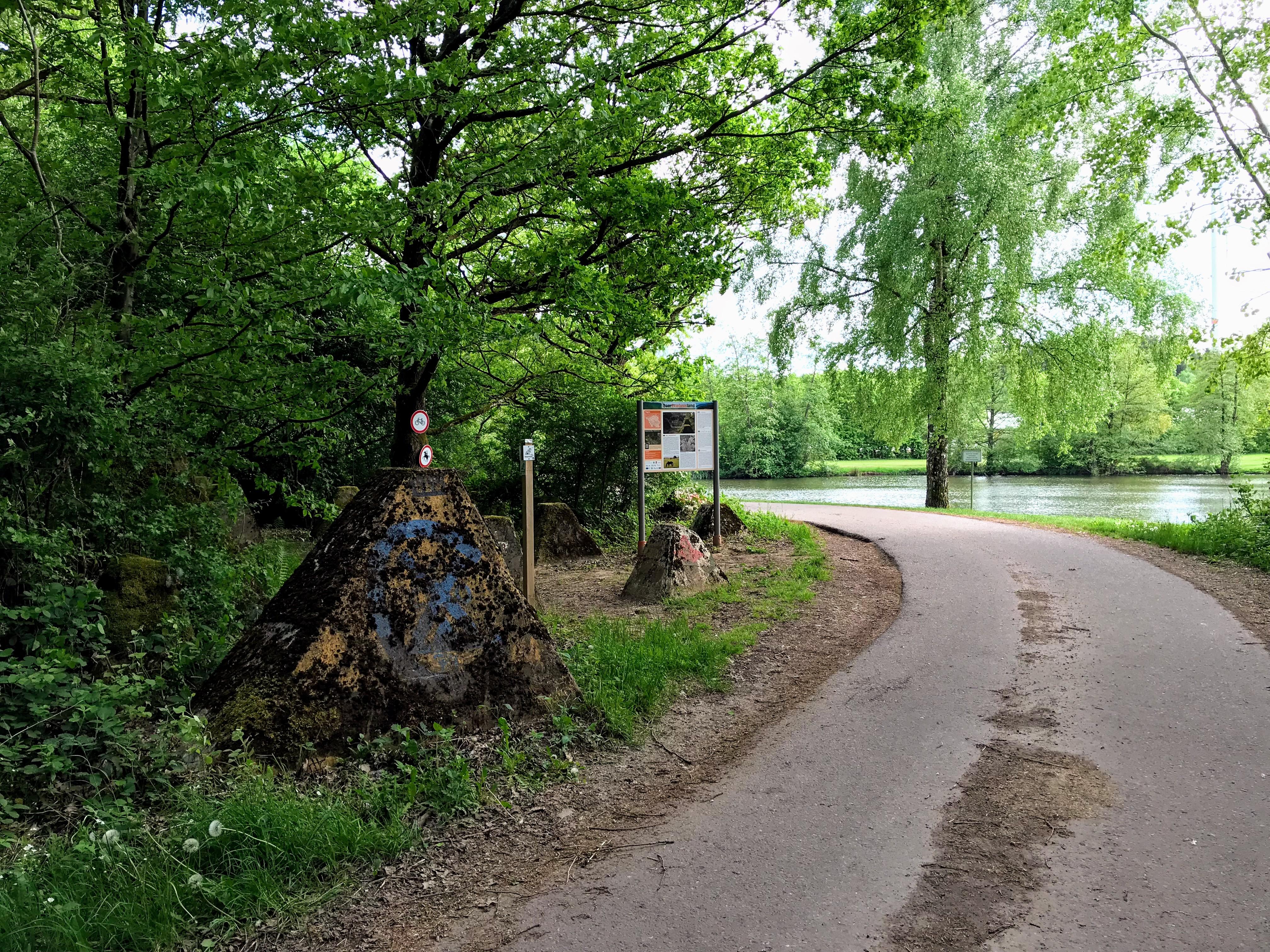 Höckerlinienweg locatie