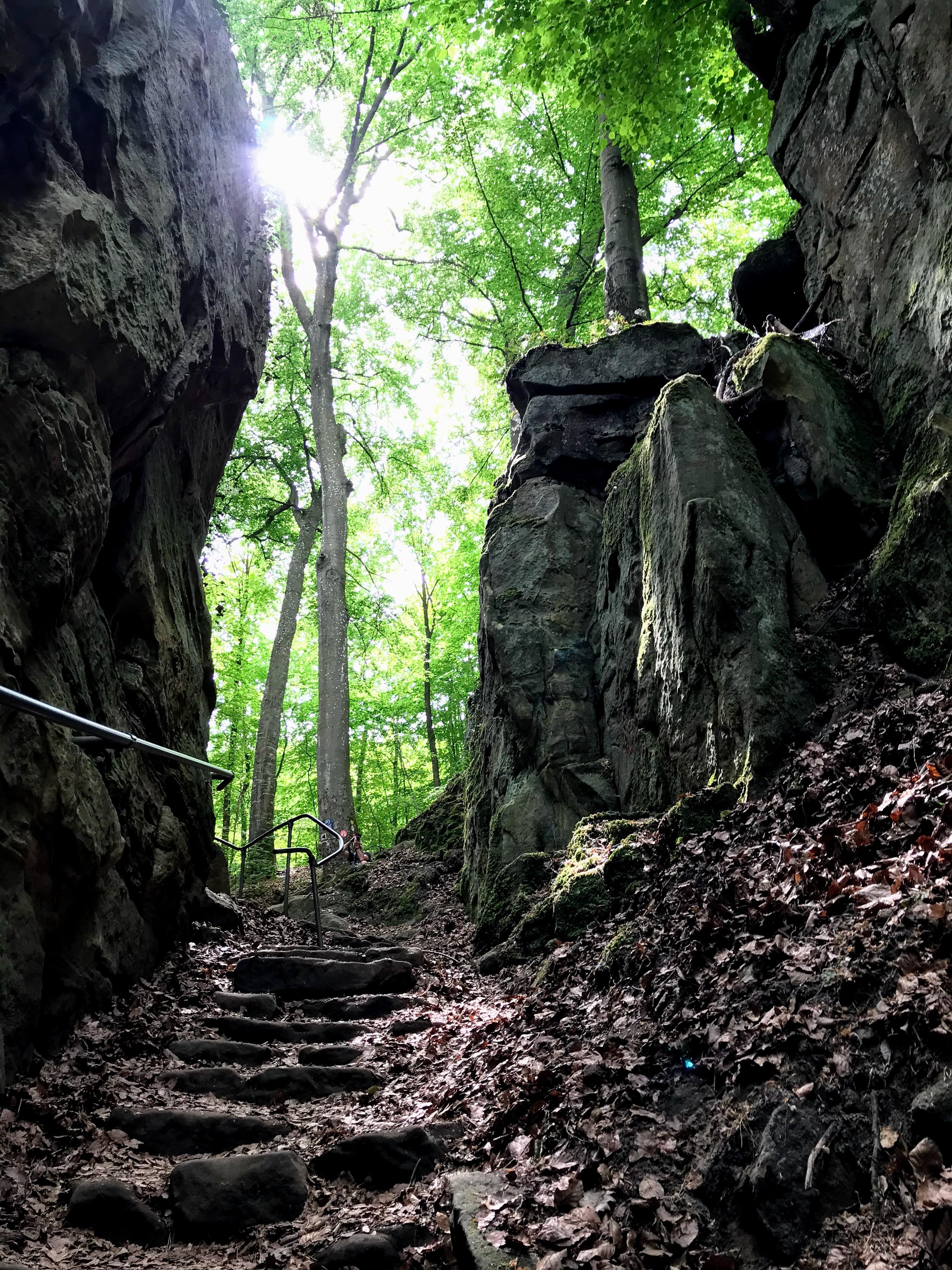 De Teufelsschlucht in de Eifel