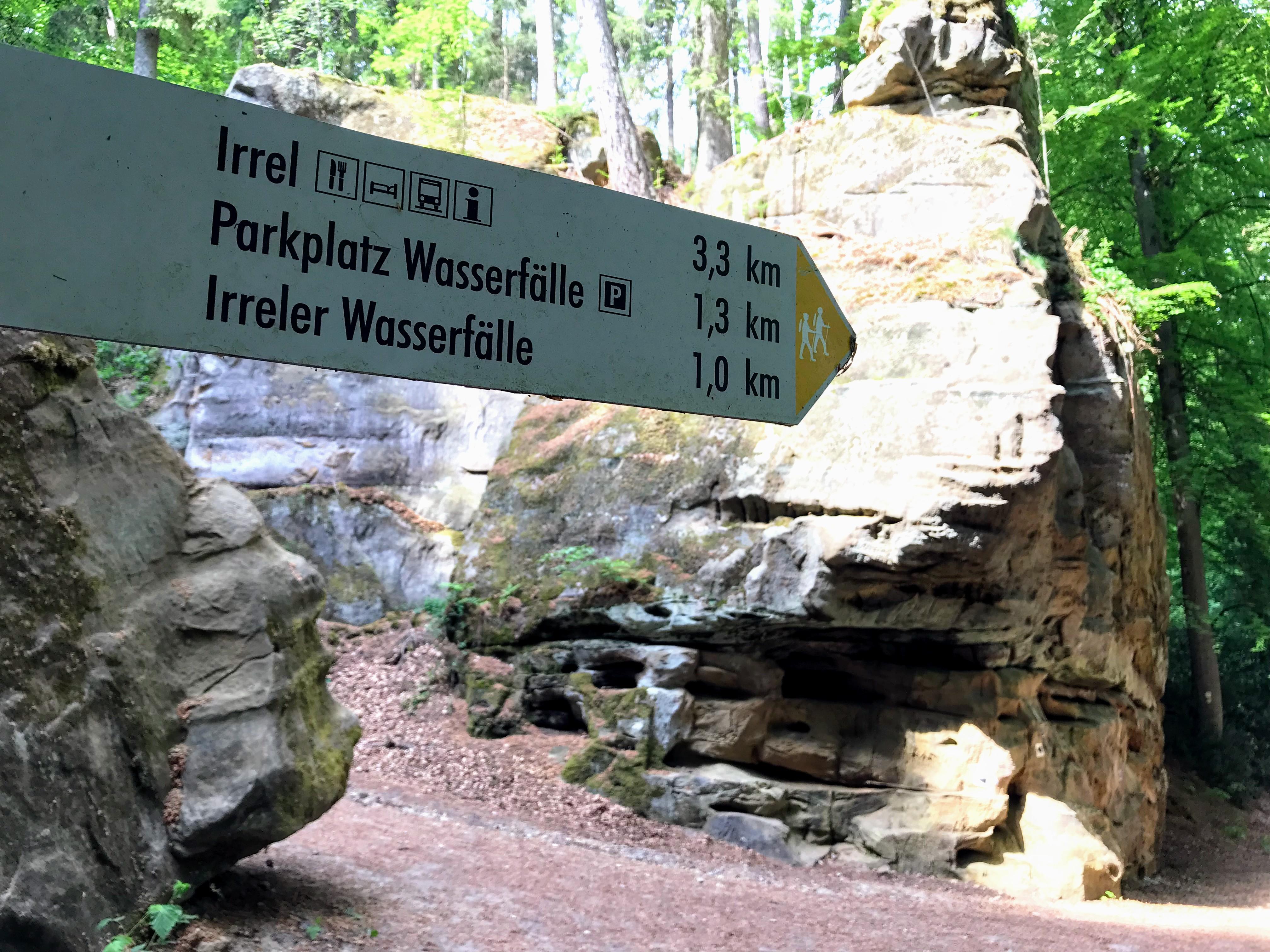 Wandeling Irreler Wasserfälle