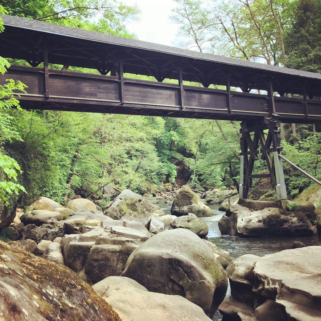 Brug Irreler Wasserfälle