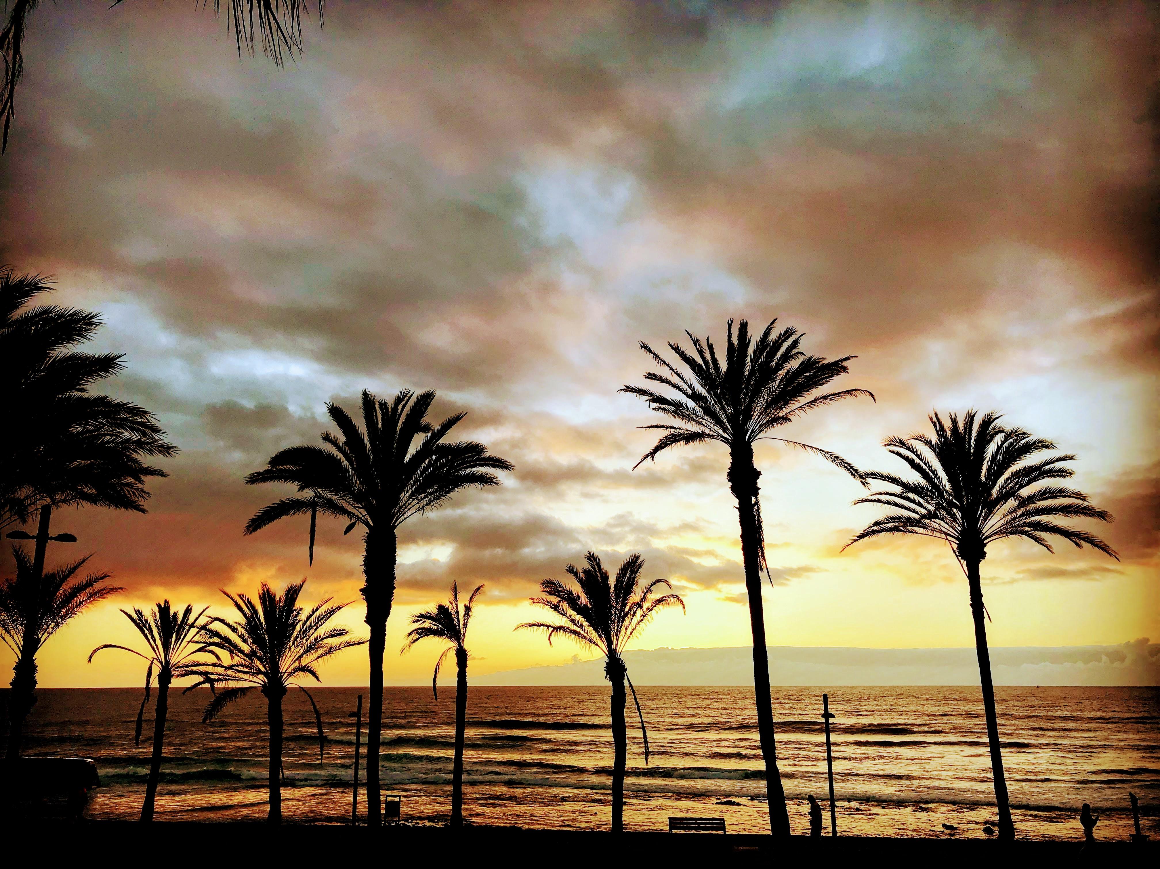 Zonsondergang Playa de las Américas