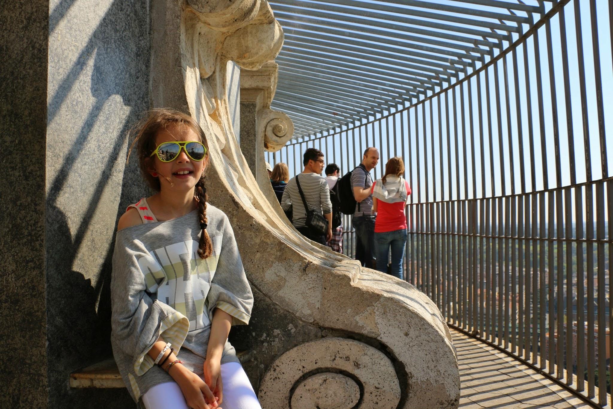 Uitzicht vanaf de Sint-Pietersbasiliek in Rome