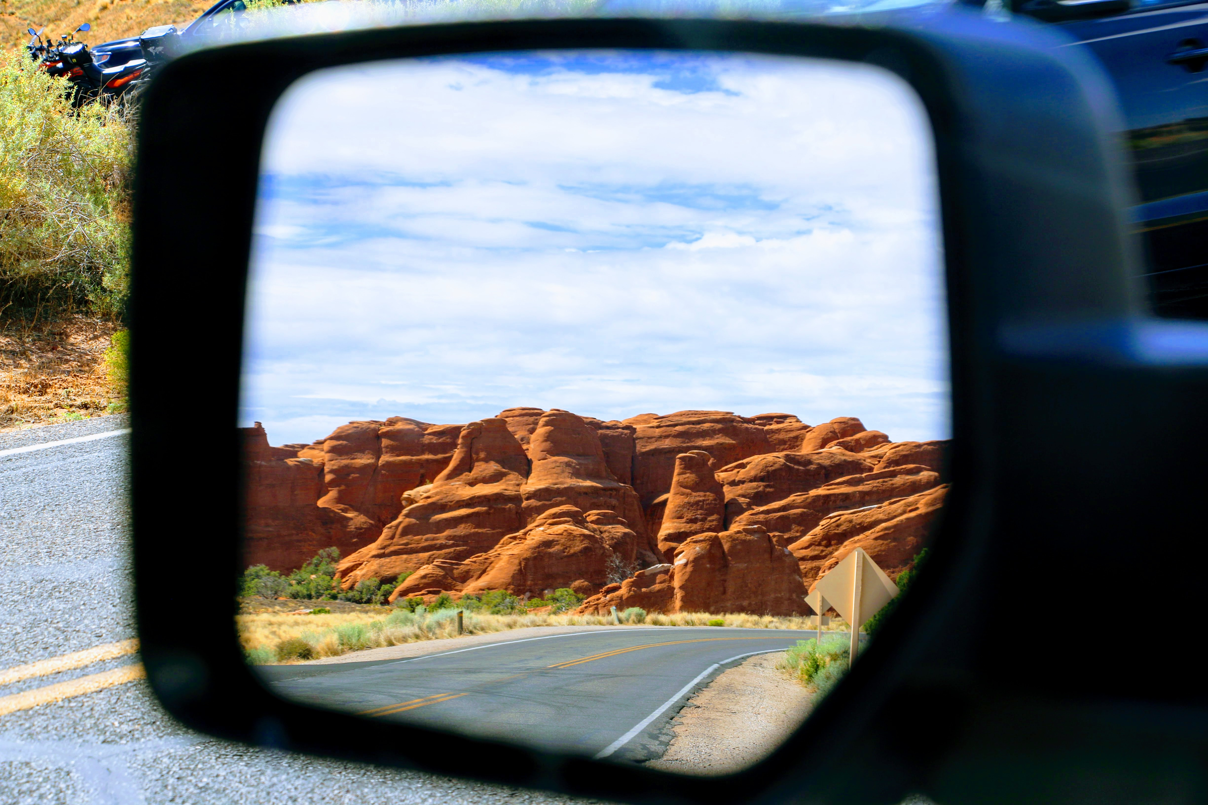 Arches National Park route