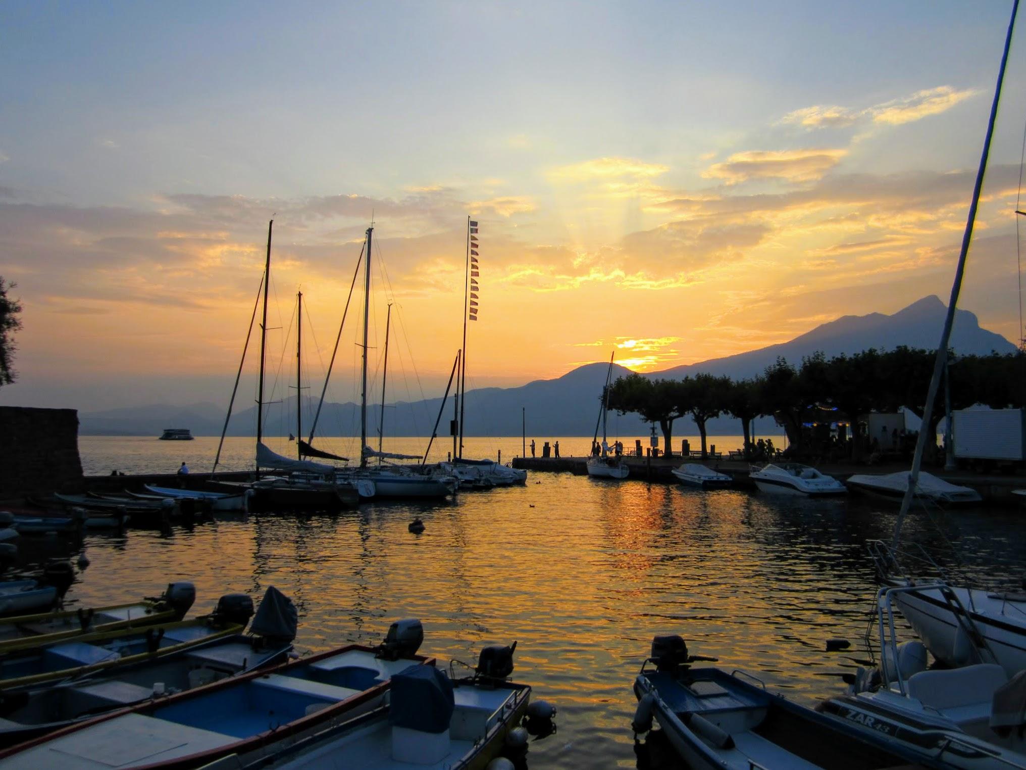 Het haventje van Torri del Benaco