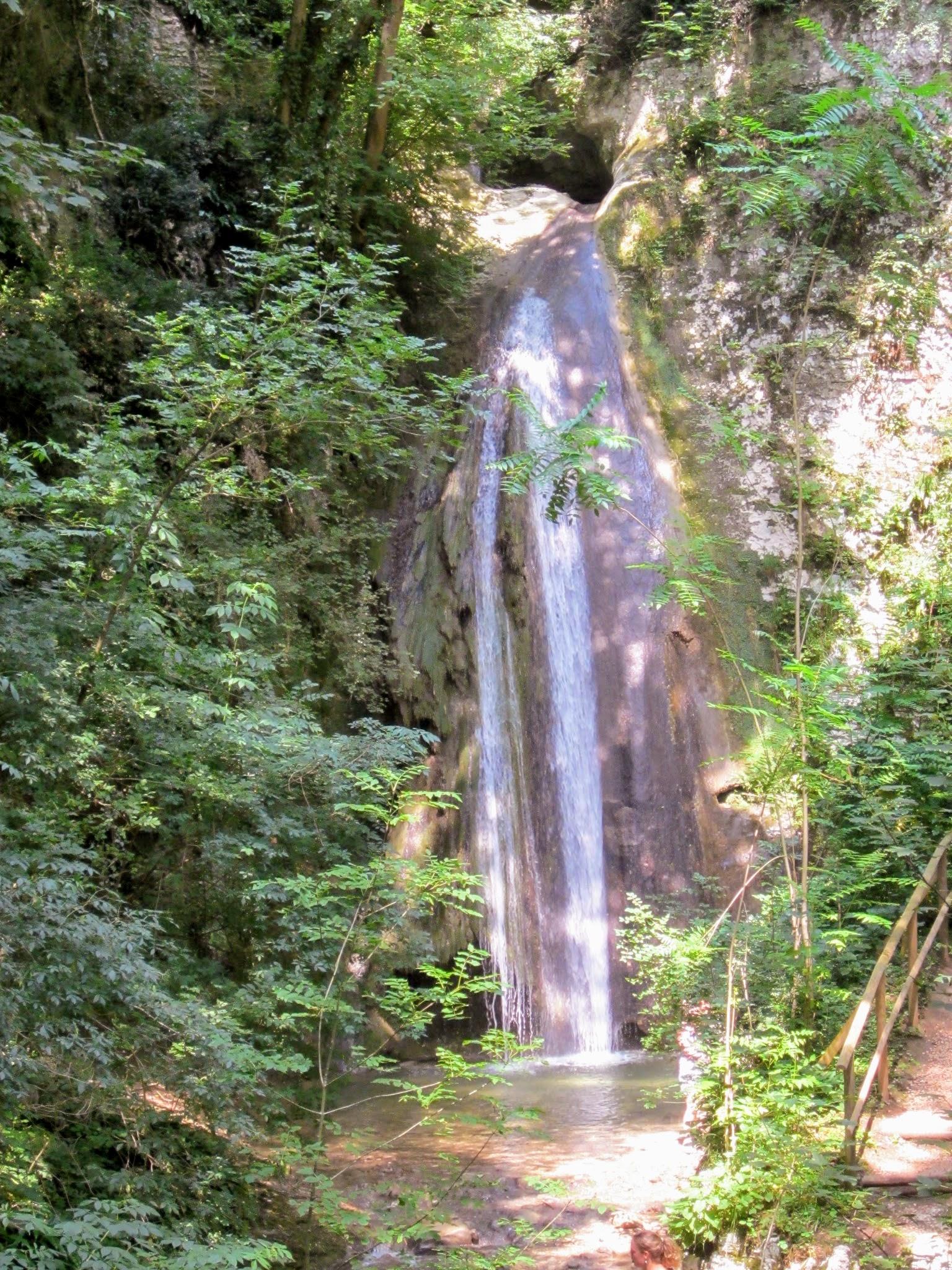 Watervallen natuurpark Gardameer