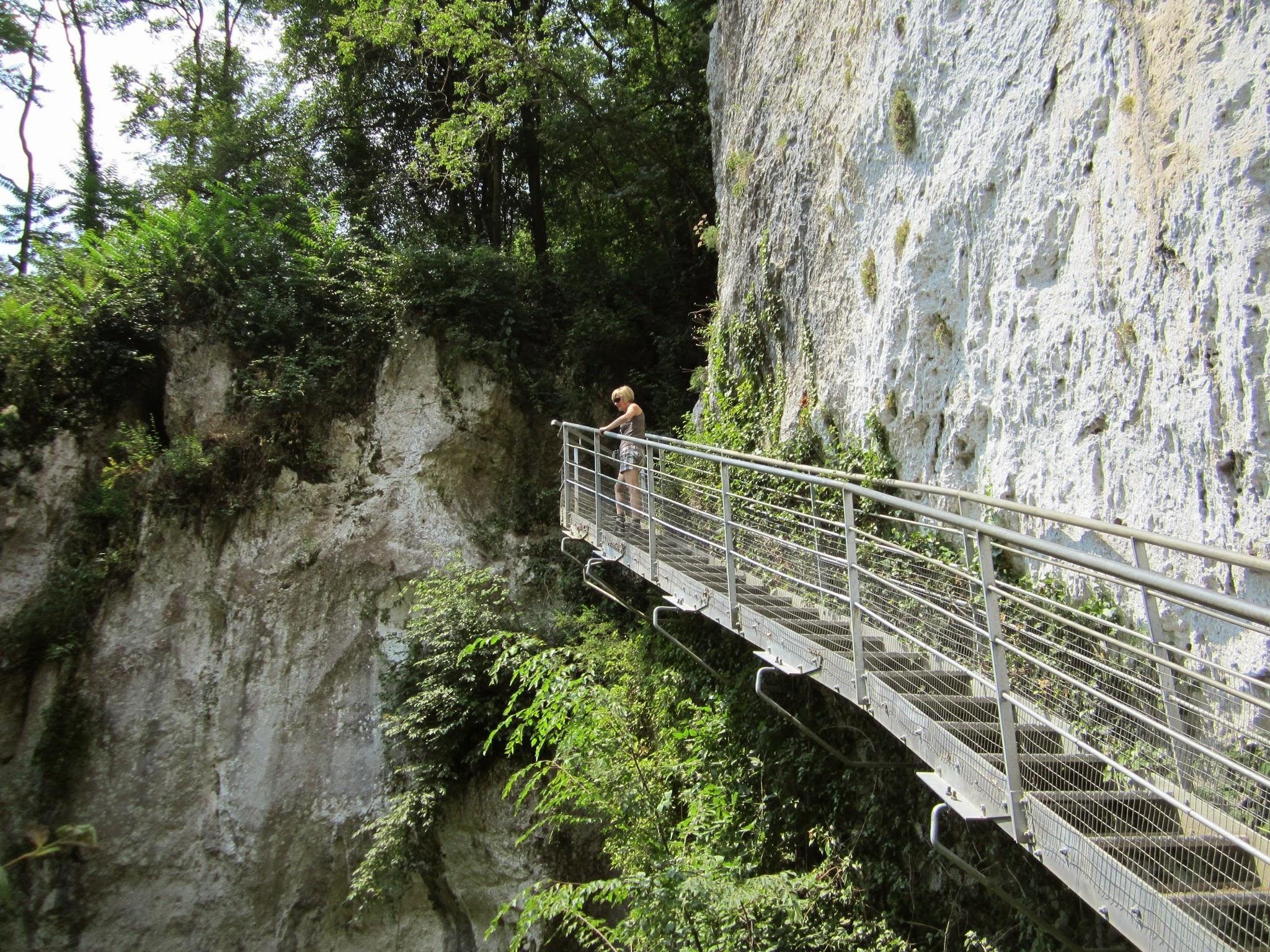 Wandelpad trappen Gardameer - Pozzo dell'Orso