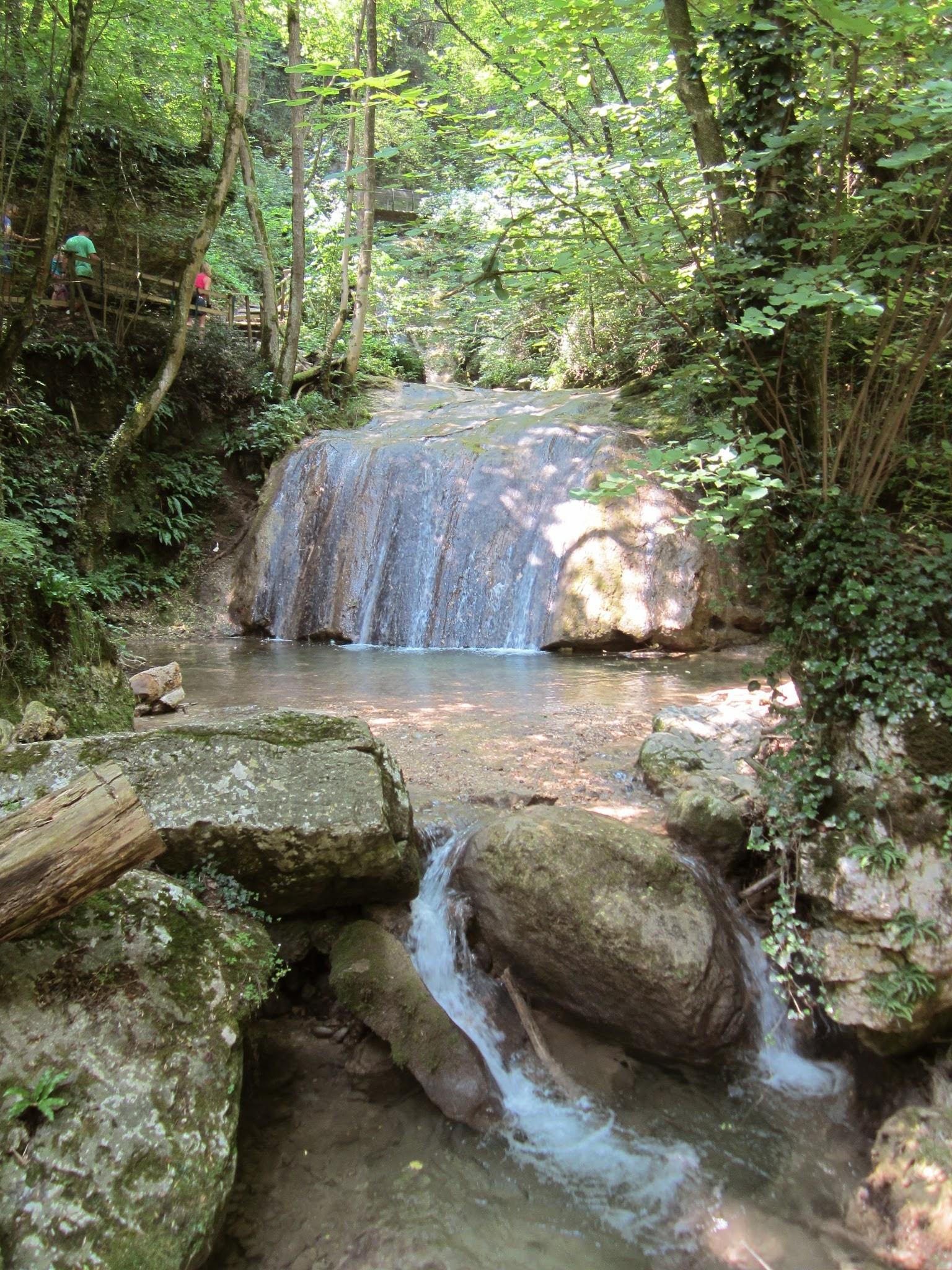 Watervallen bezoeken Gardameer Italie