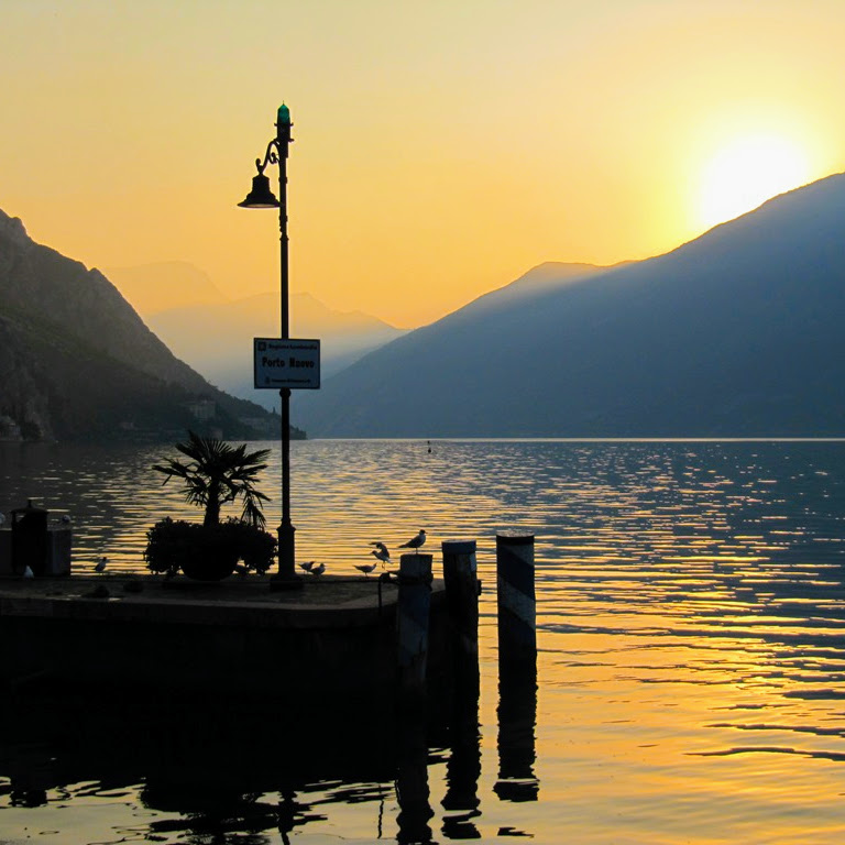 Een ochtendwandeling door Limone sul Garda