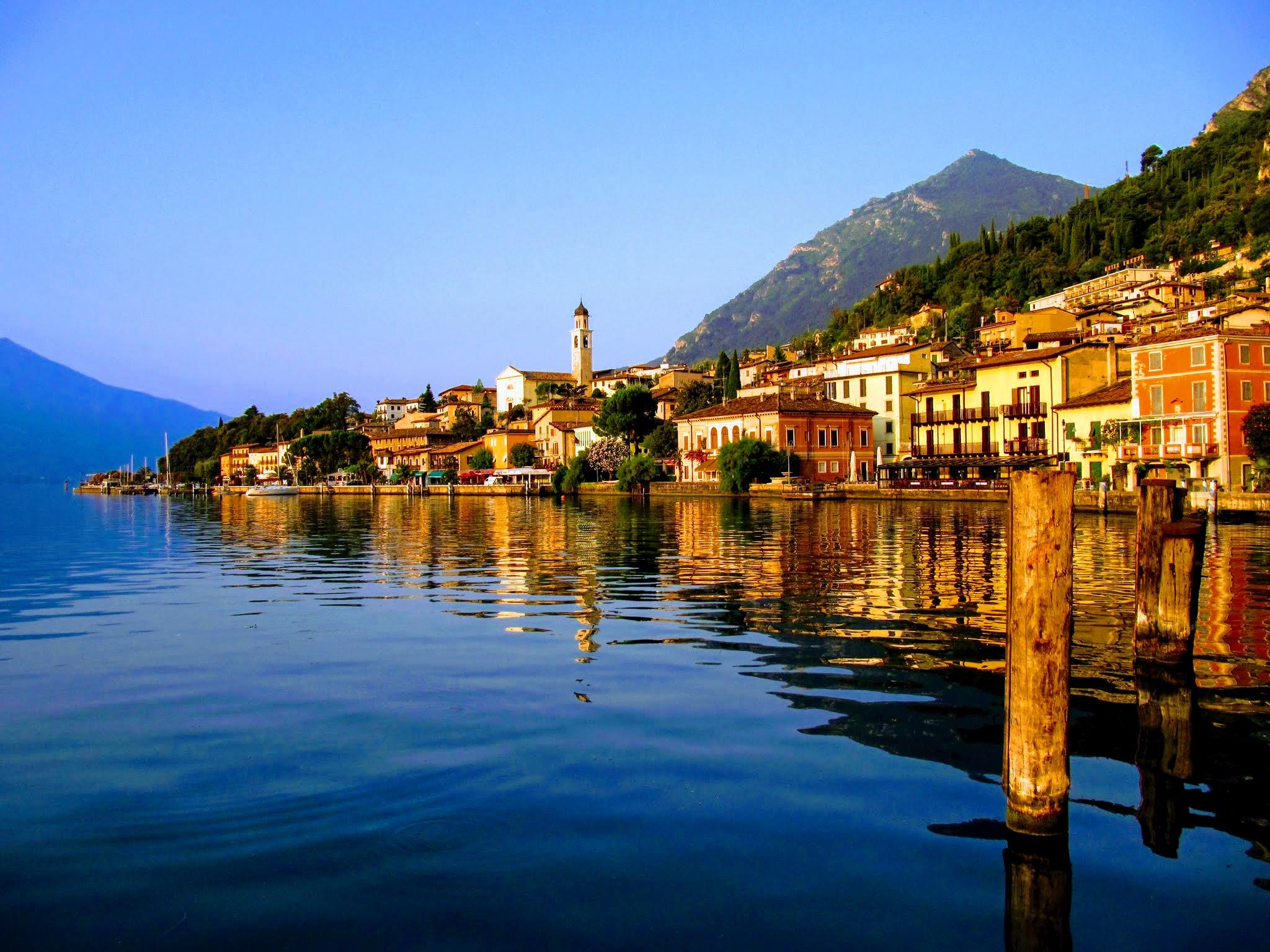Limone sul Garda aan het Gardameer
