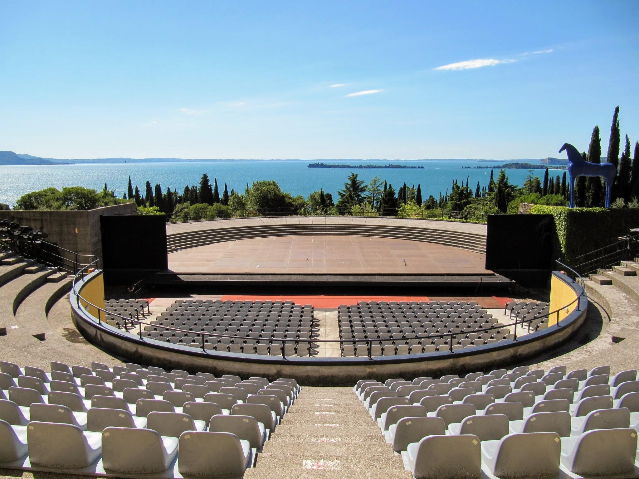 Openlucht amfitheater Gardameer