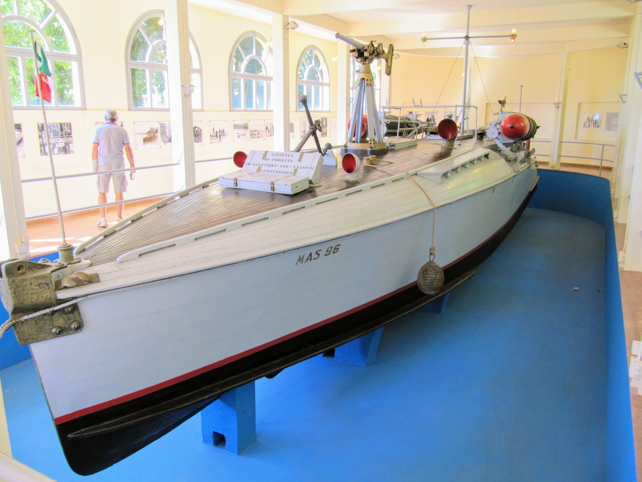Museum Gardone Riviera boot