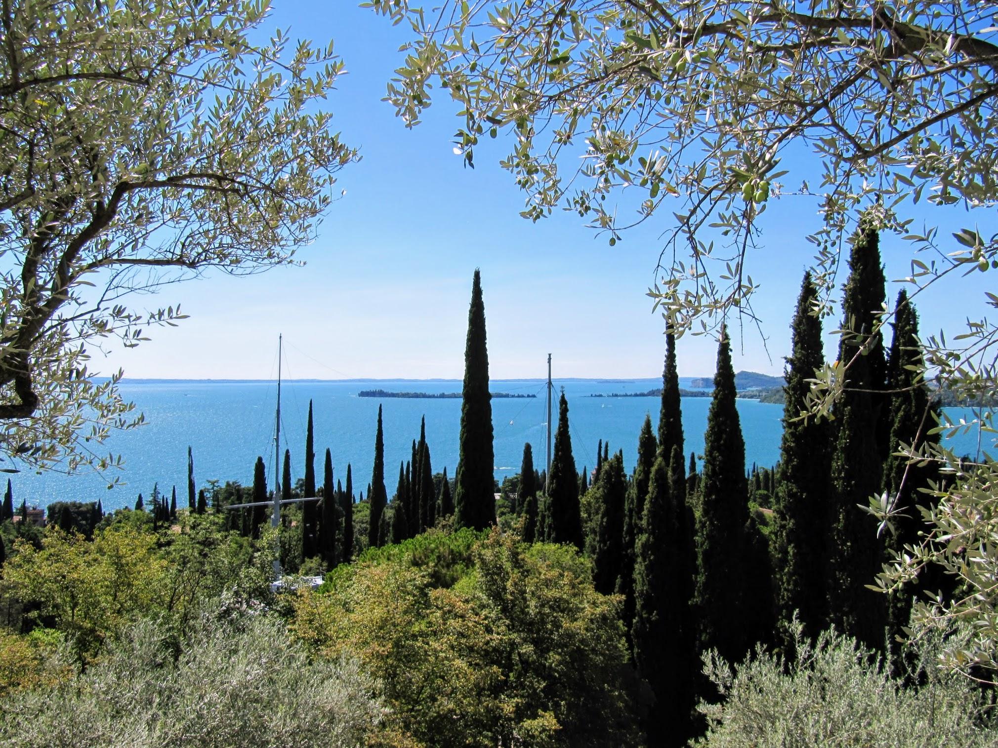 Uitzicht Il Vittoriale Gardone Riviera