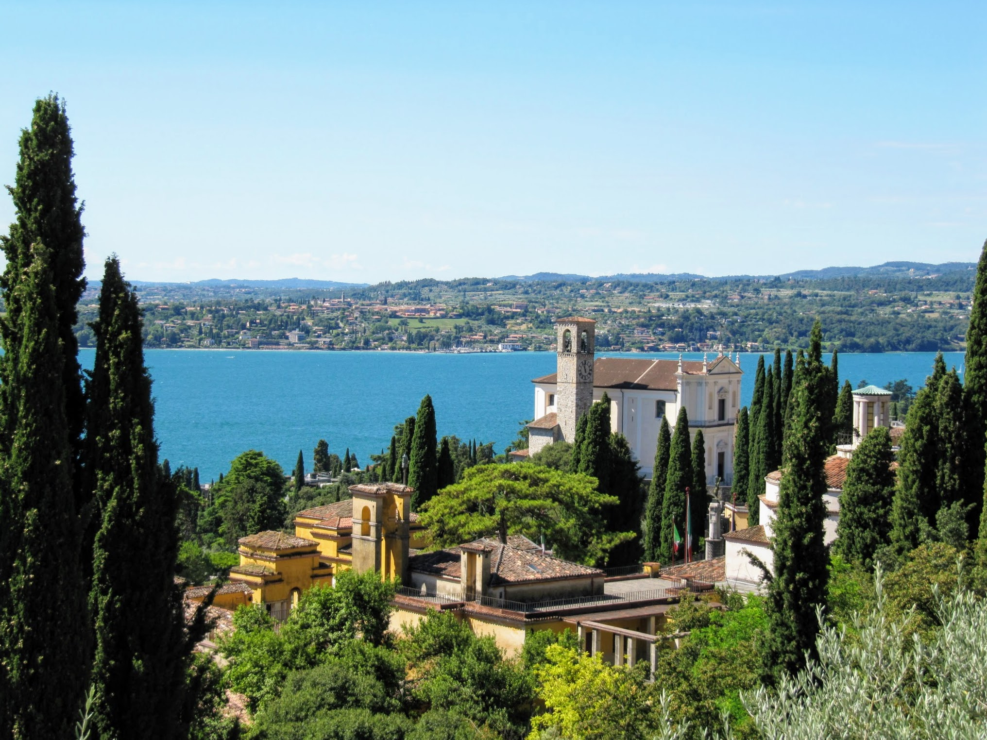 Uitzicht op Gardone Riviera aan het Gardameer