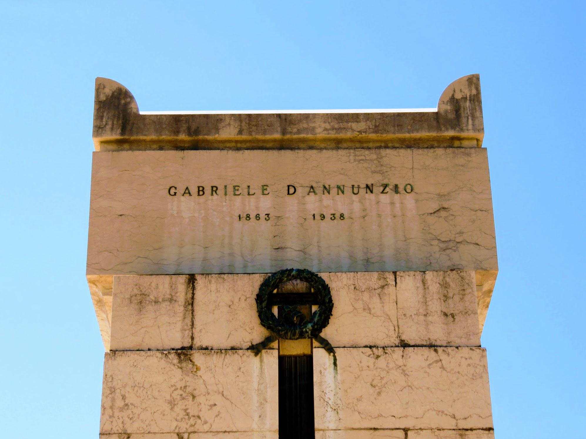mausoleum gabriele d'annunzio Gardone Riviera