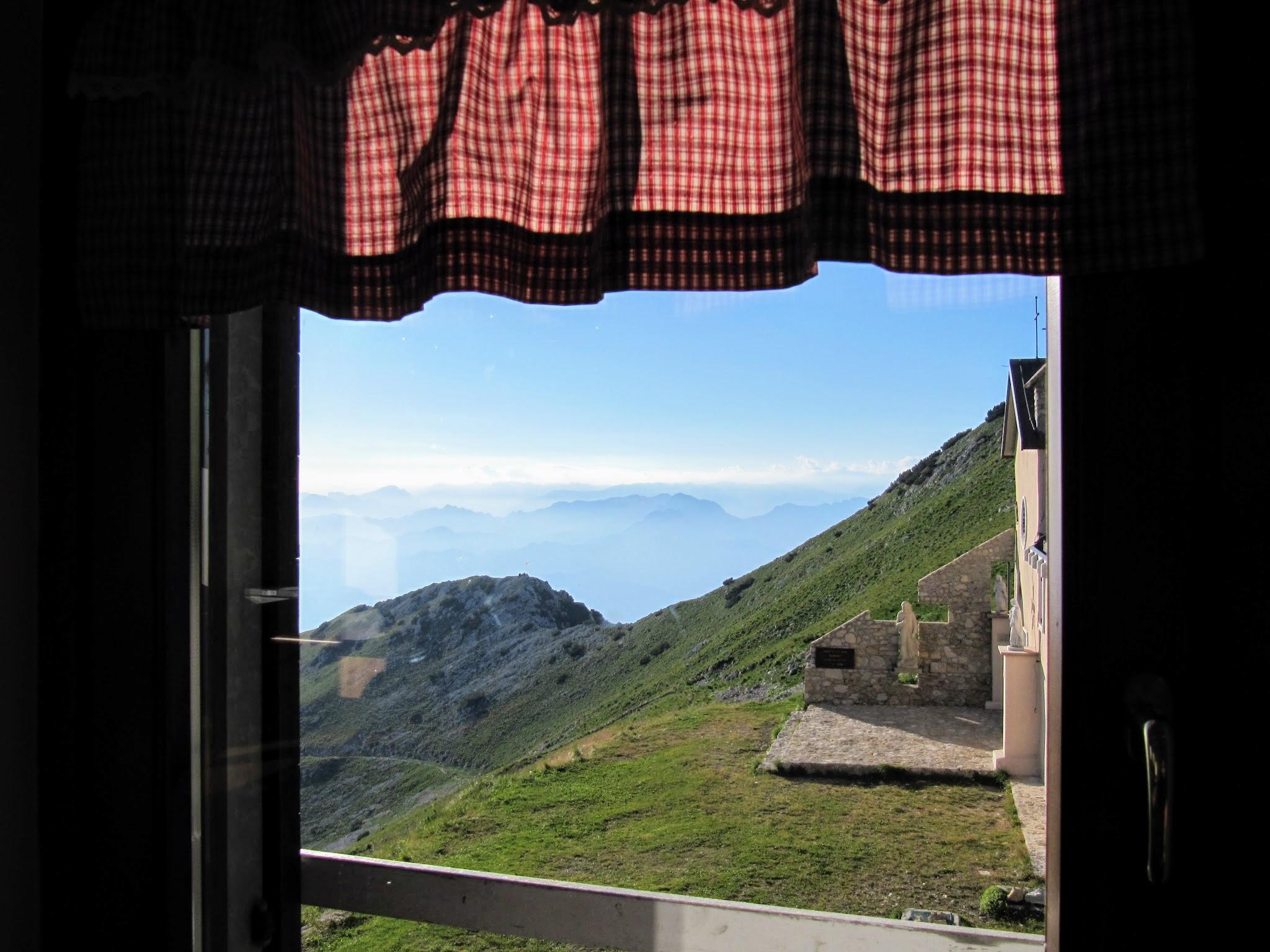 Uitzicht berghut Gardameer