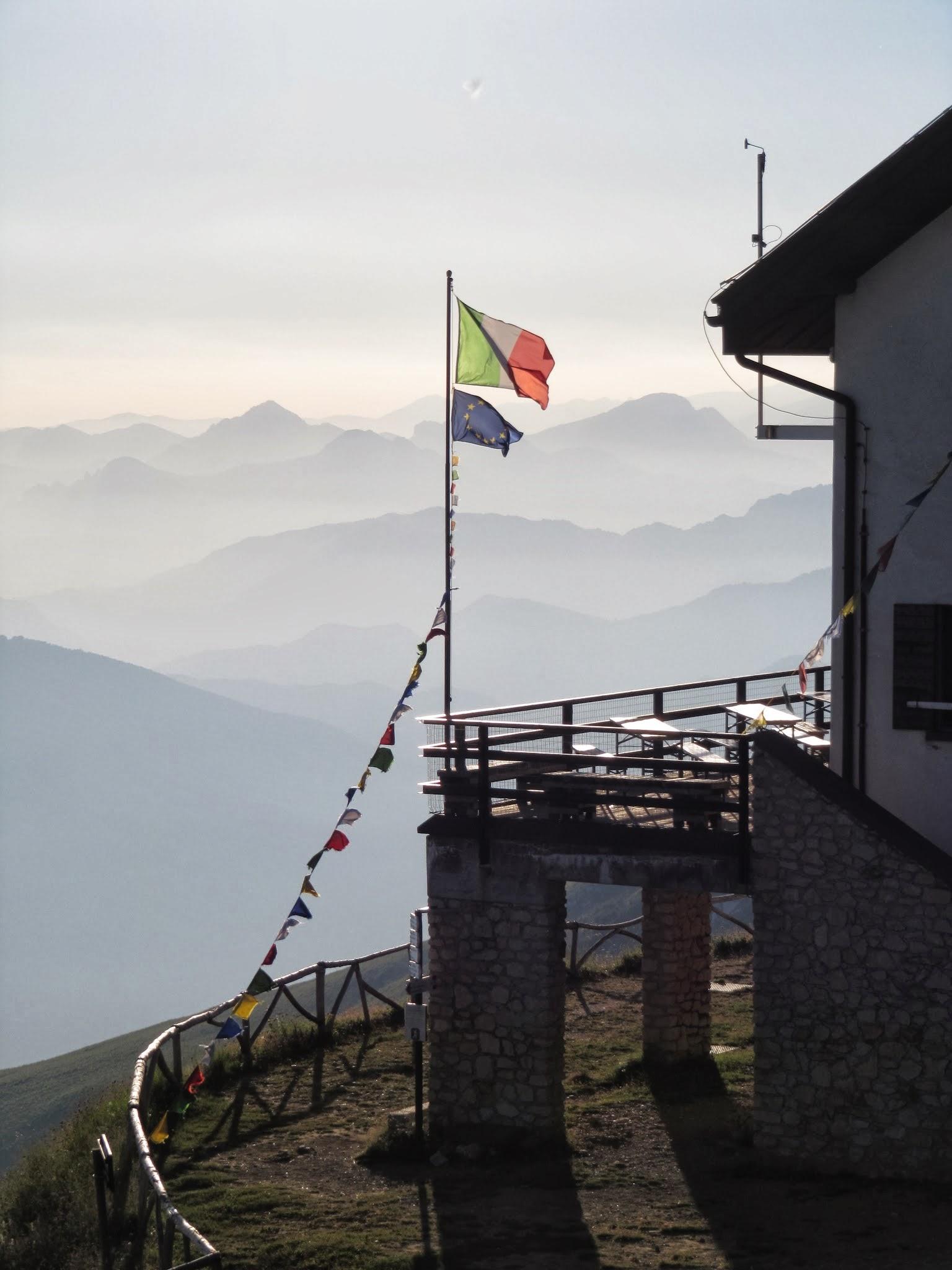 Overnachten in een berghut op de Monte Baldo